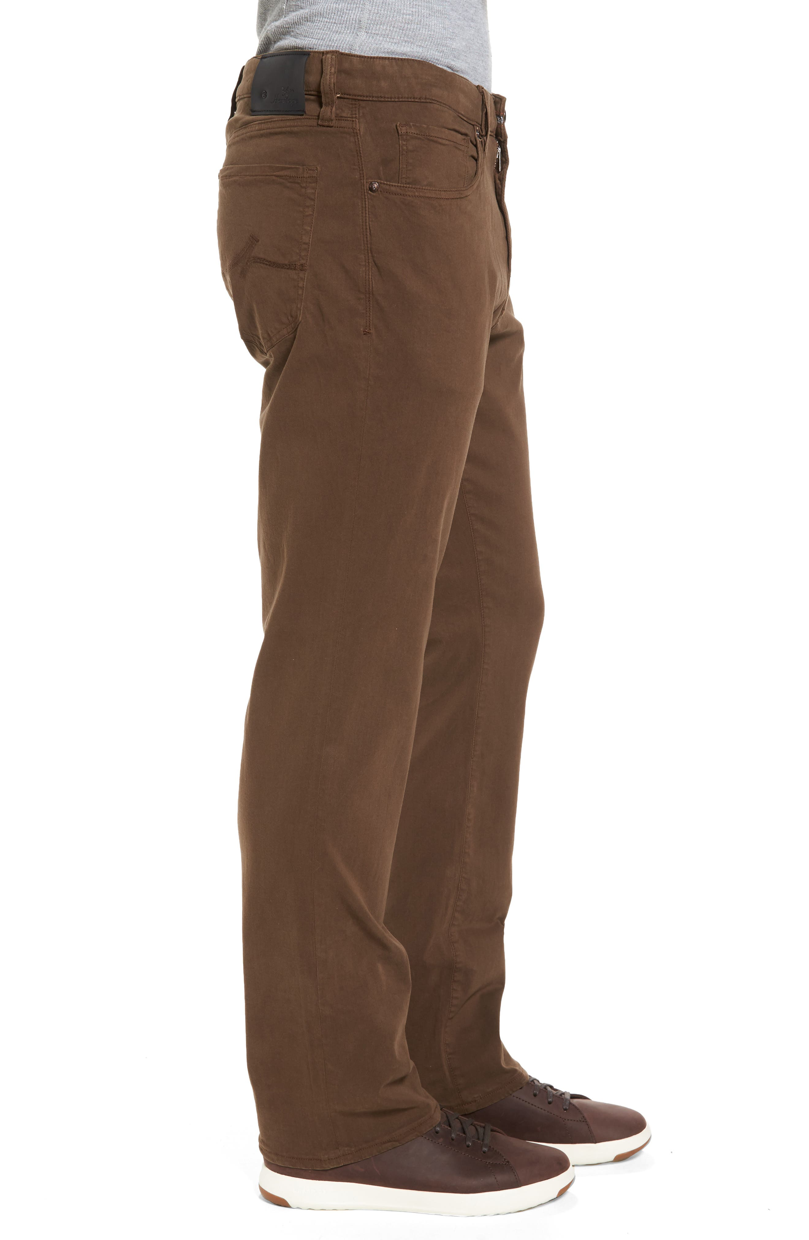 Alternate Image 3  - 34 Heritage Charism Relaxed Fit Jeans (Choco Twill)