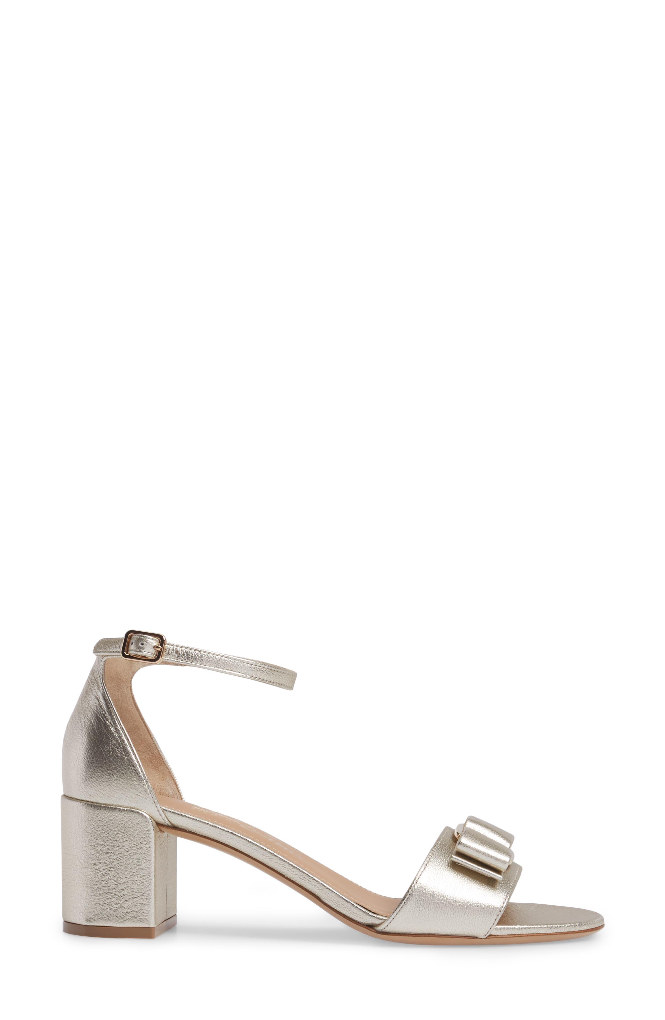 Alternate Image 3  - Salvatore Ferragamo Block Heel Bow Sandal (Women)