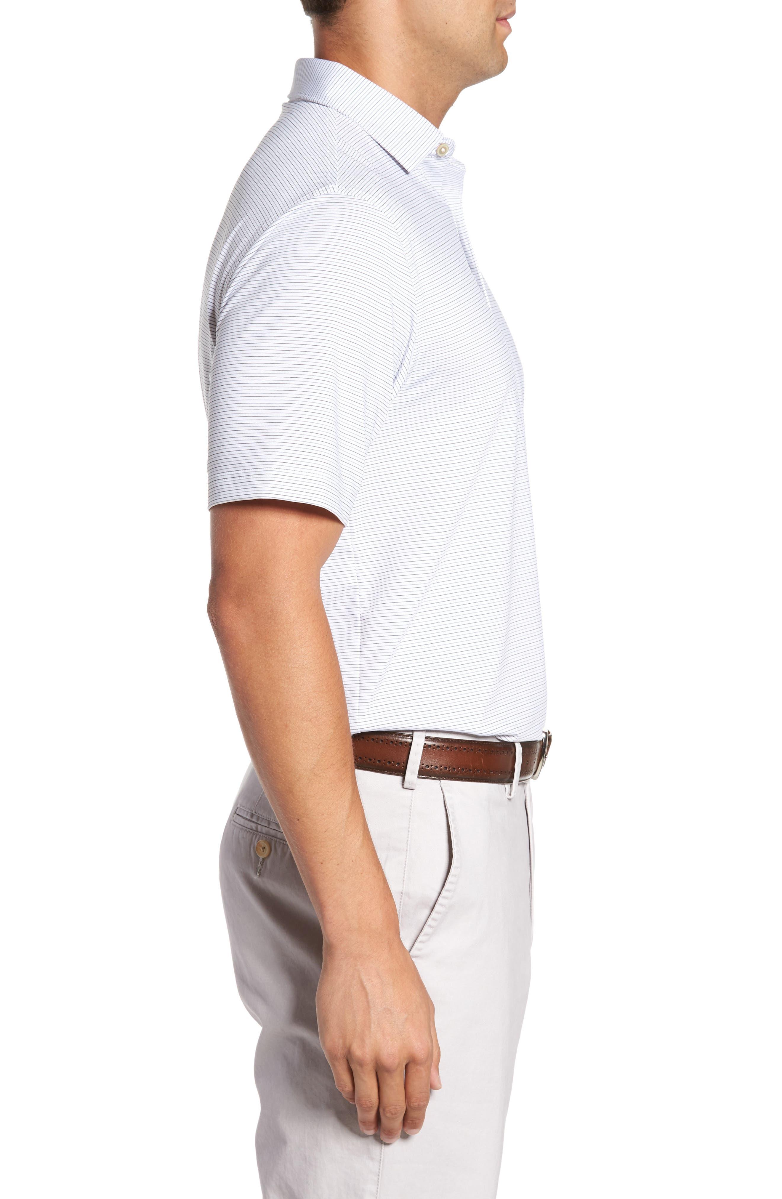 Alternate Image 3  - Peter Millar Chesapeake Stripe Stretch Jersey Polo
