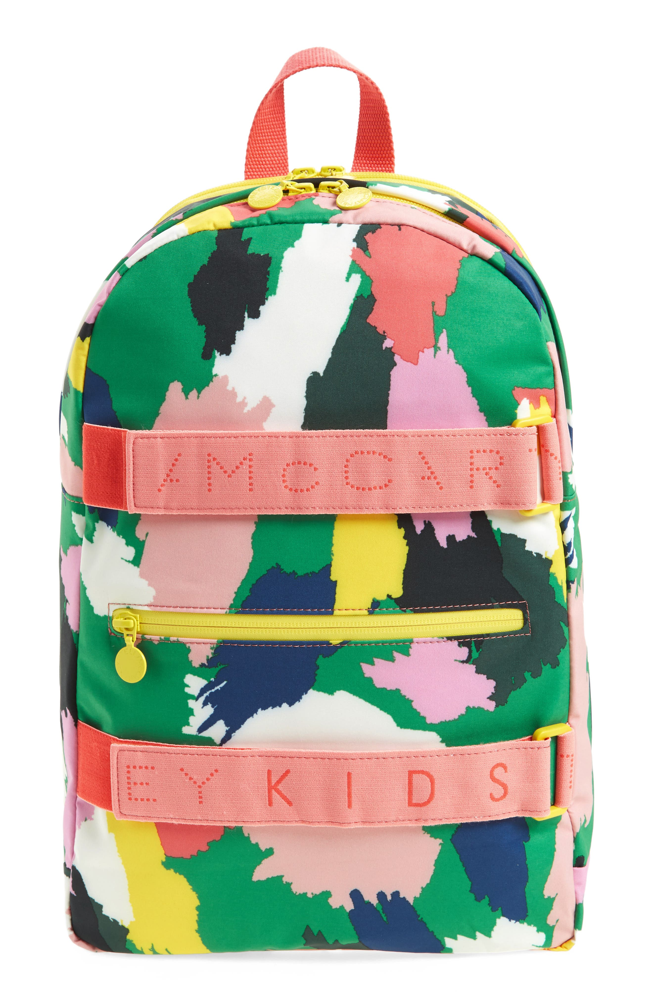 Alternate Image 1 Selected - Stella McCartney Kids Print Backpack (Kids)