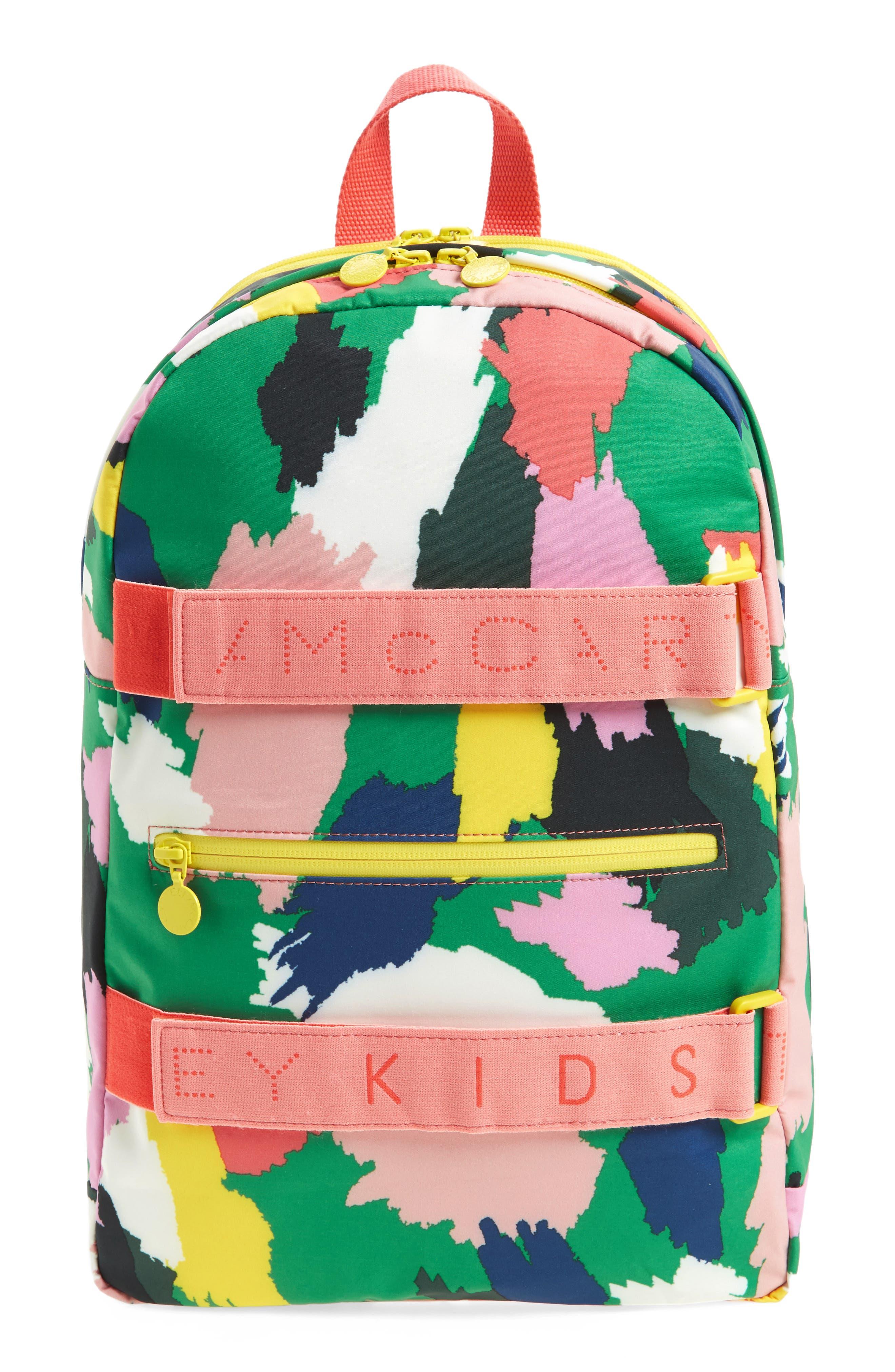 Stella McCartney Kids Print Backpack (Kids)
