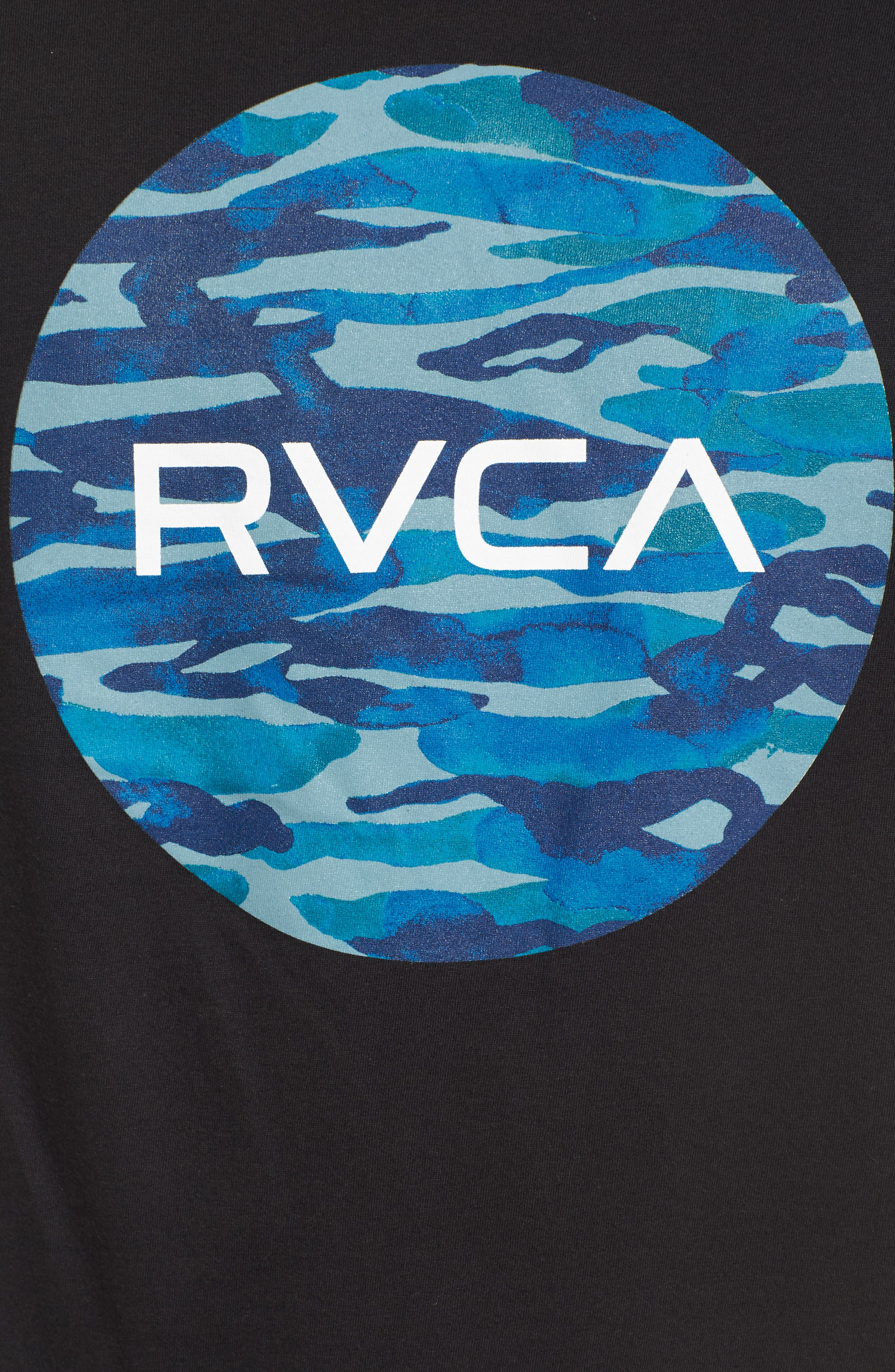 Alternate Image 5  - RVCA Water Camo Motors Graphic T-Shirt