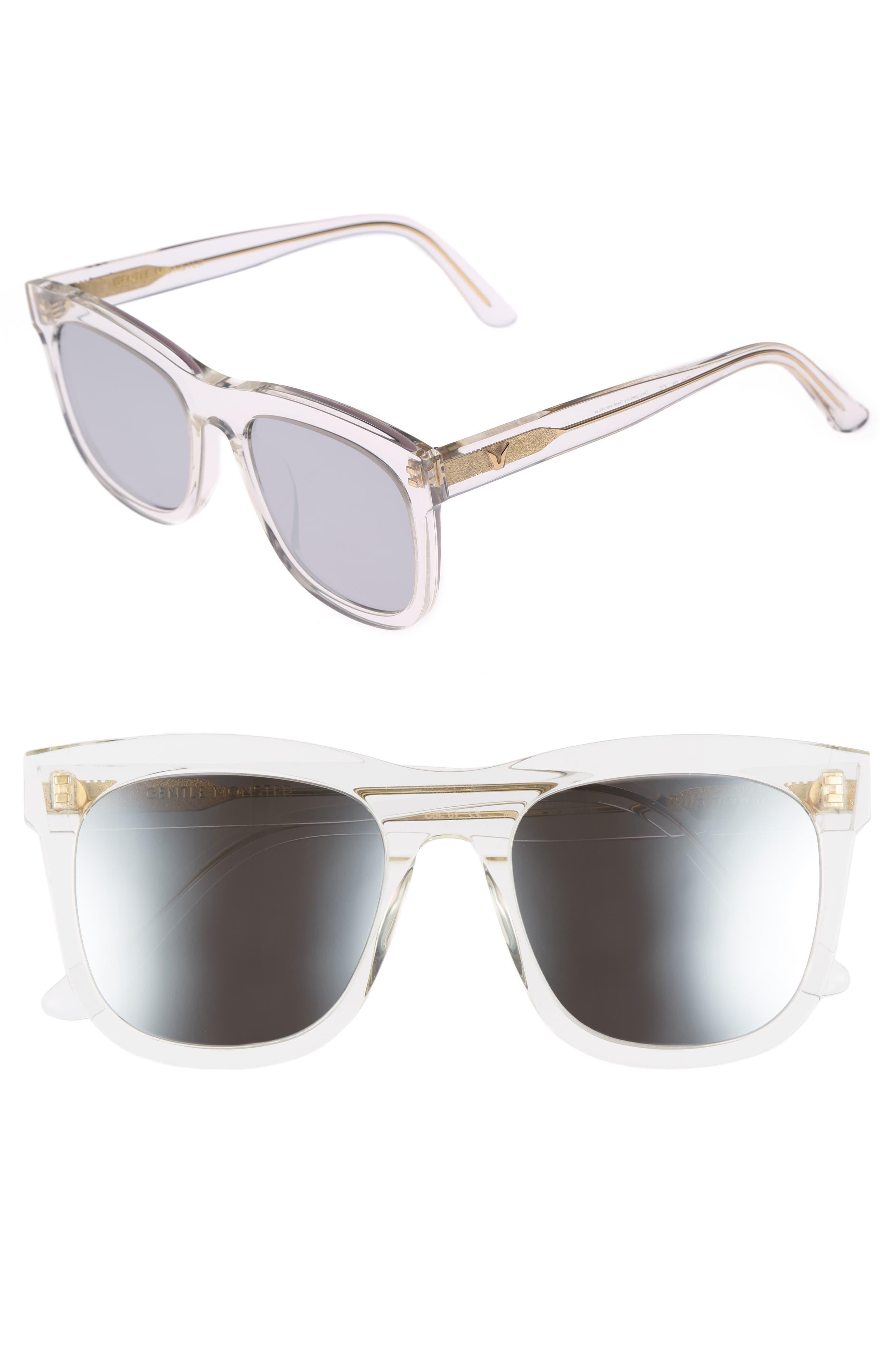 Pulp Fiction 54mm Sunglasses,                         Main,                         color, Clear Mirror