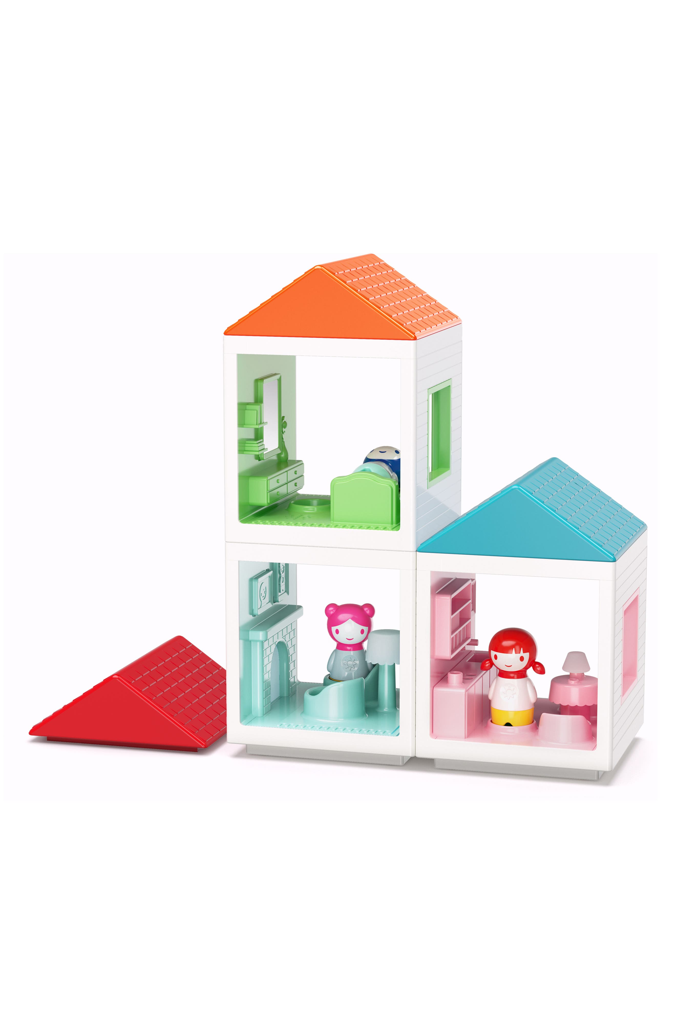 Myland<sup>™</sup> Play House Dining Room,                             Alternate thumbnail 3, color,                             White