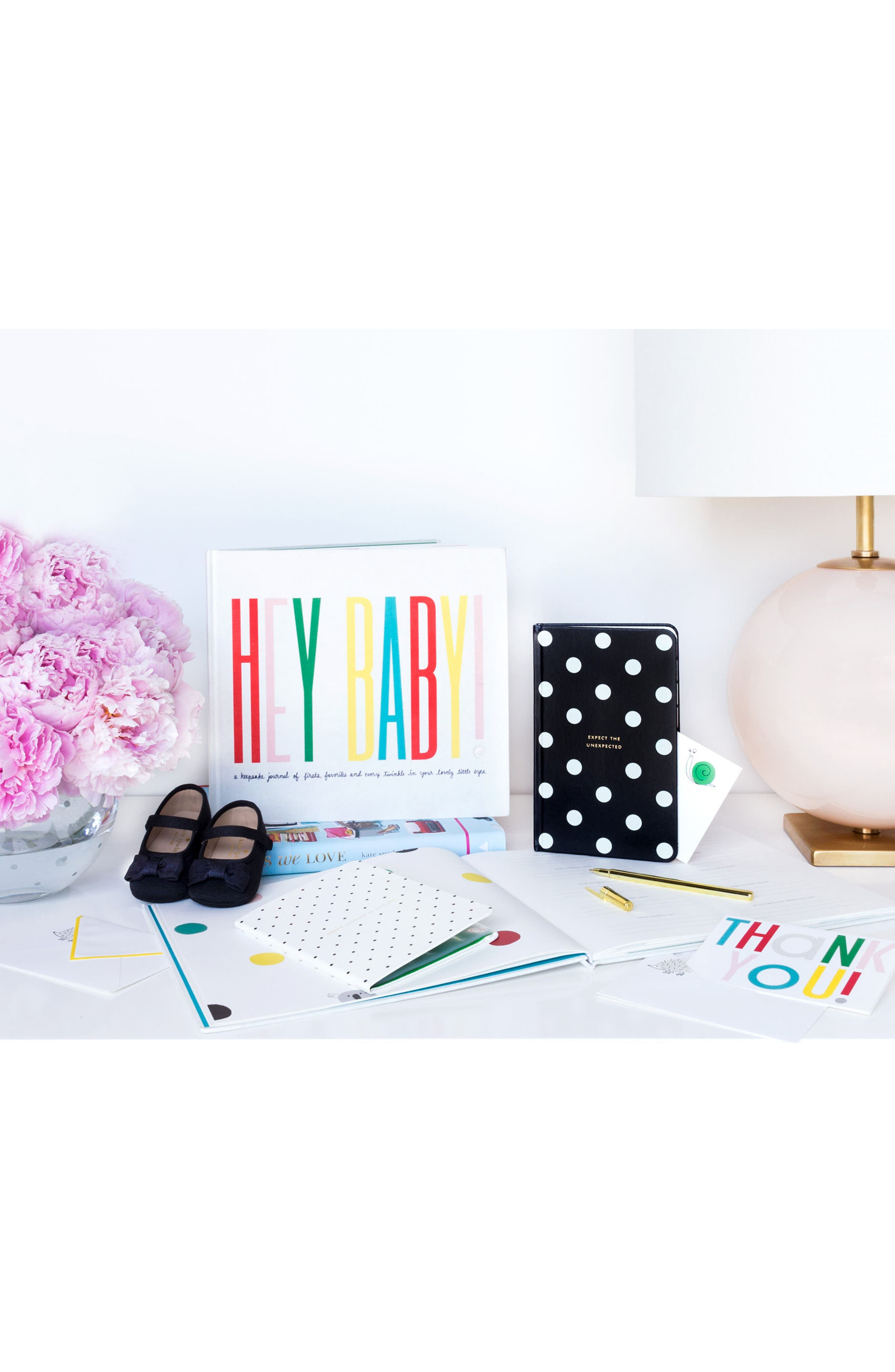 Alternate Image 2  - kate spade new york hey baby 10-pack thank you cards