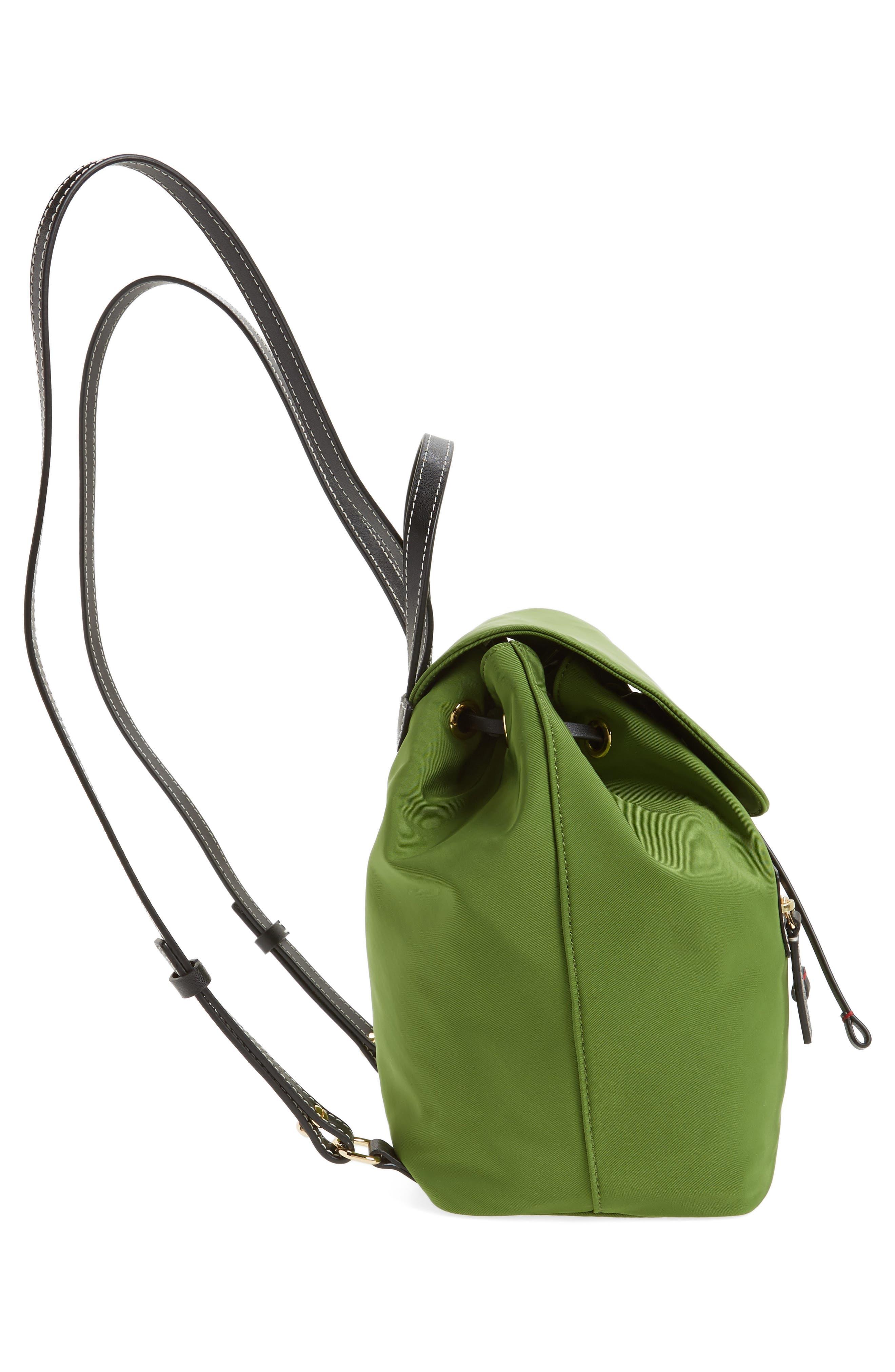 Nylon Backpack,                             Alternate thumbnail 4, color,                             Grass