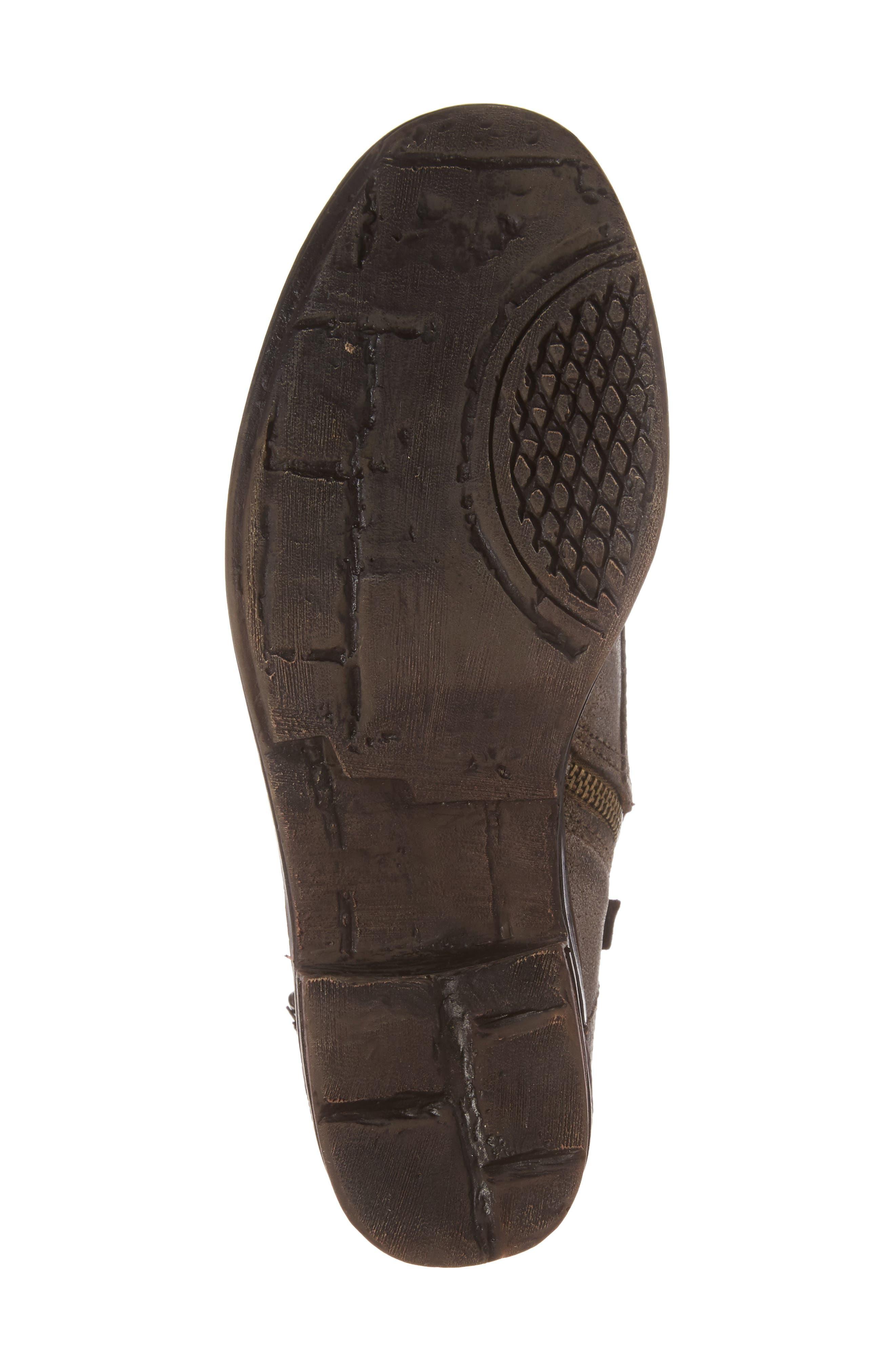 Gallivant Combat Bootie,                             Alternate thumbnail 6, color,                             Mint Leather