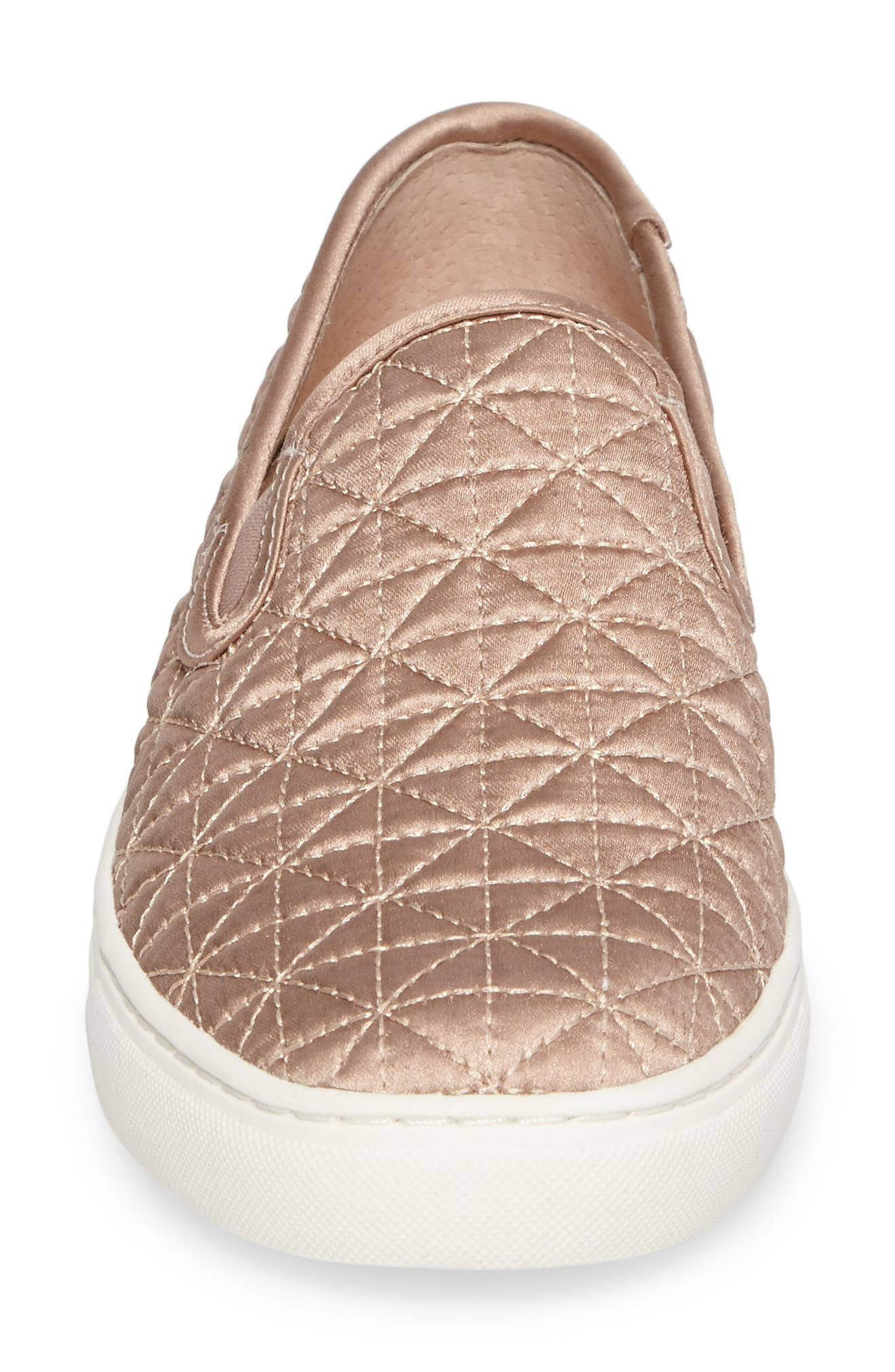 Alternate Image 4  - Vince Camuto Billena Quilted Slip-On Sneaker (Women)