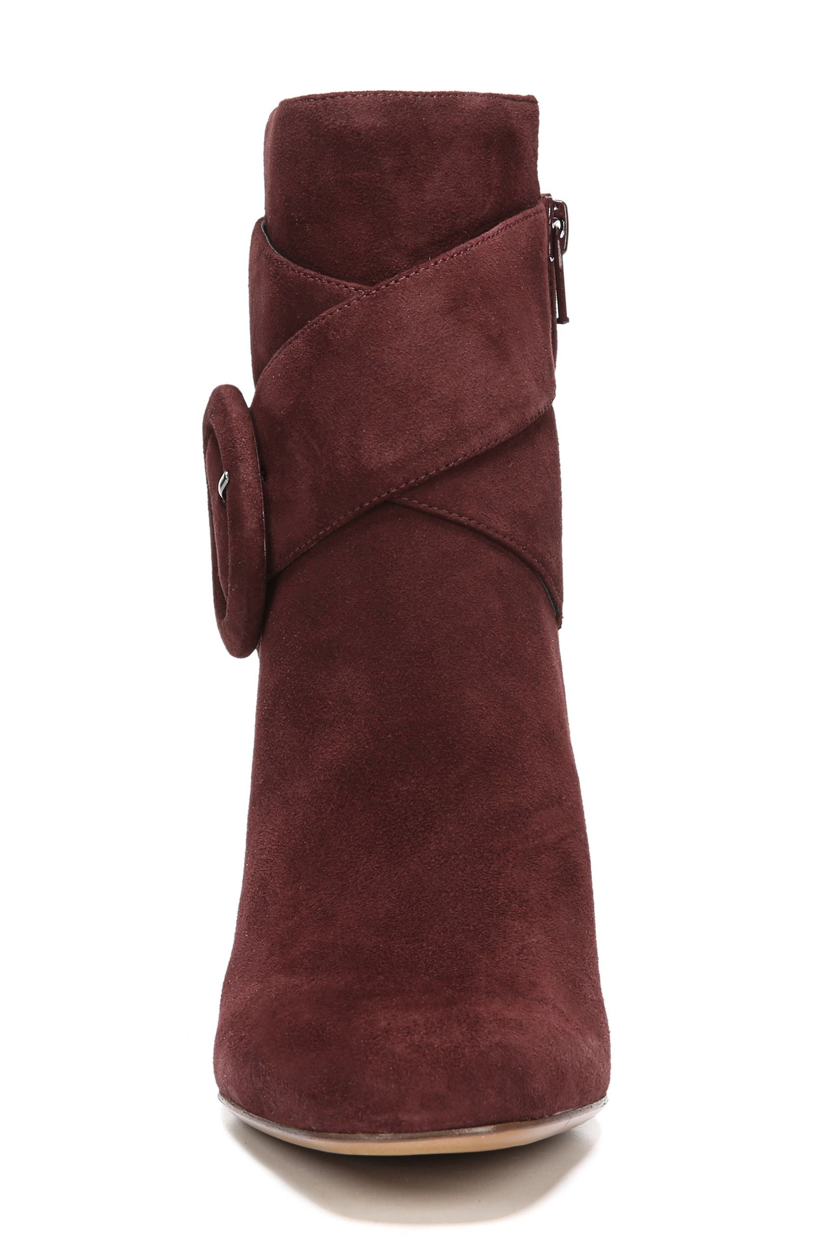 Nautralizer Rae Bootie,                             Alternate thumbnail 4, color,                             Bordo Leather