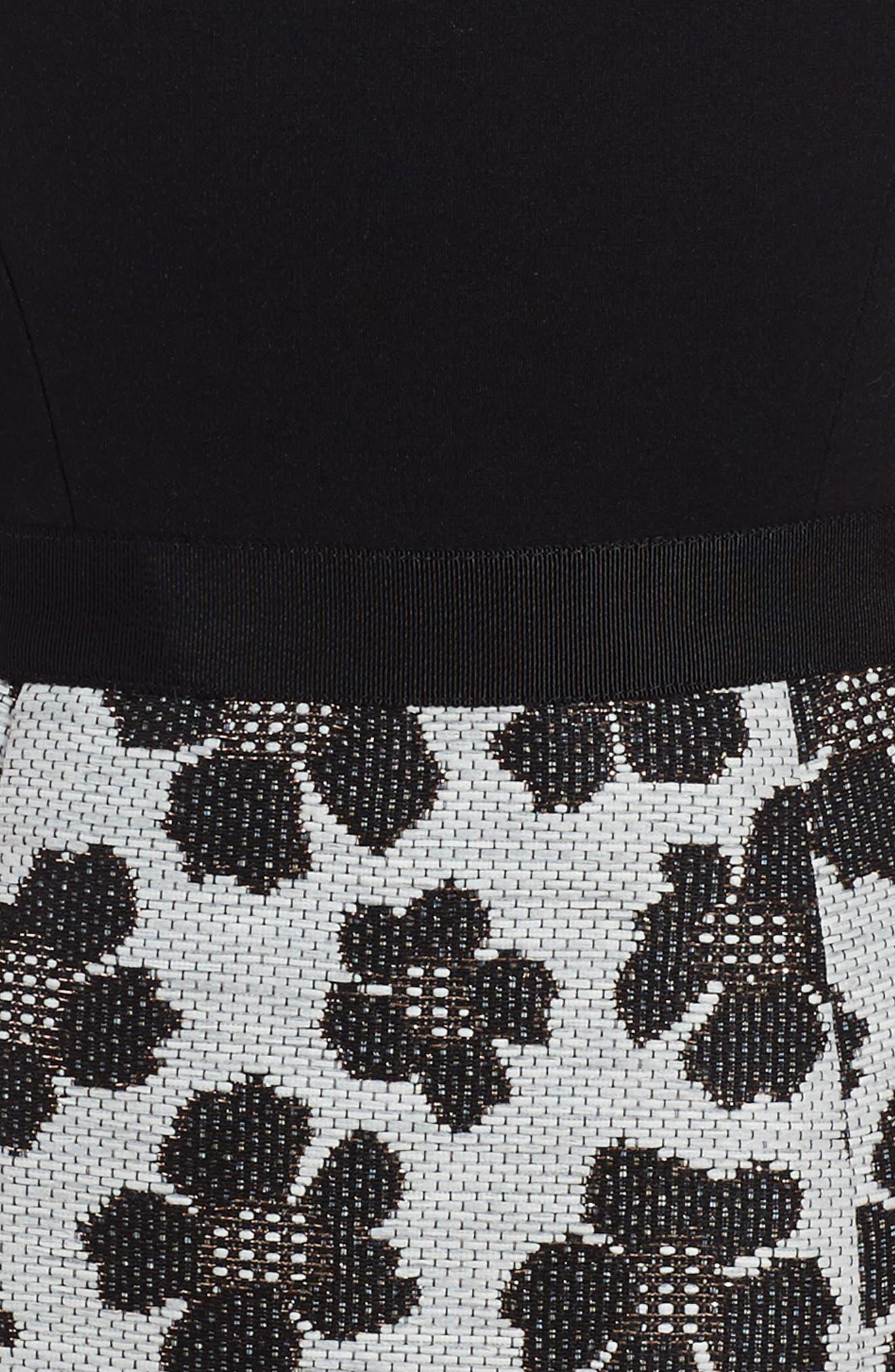 Alternate Image 3  - Milly Minis Floral Jacquard Dress (Toddler Girls, Little Girls & Big Girls)