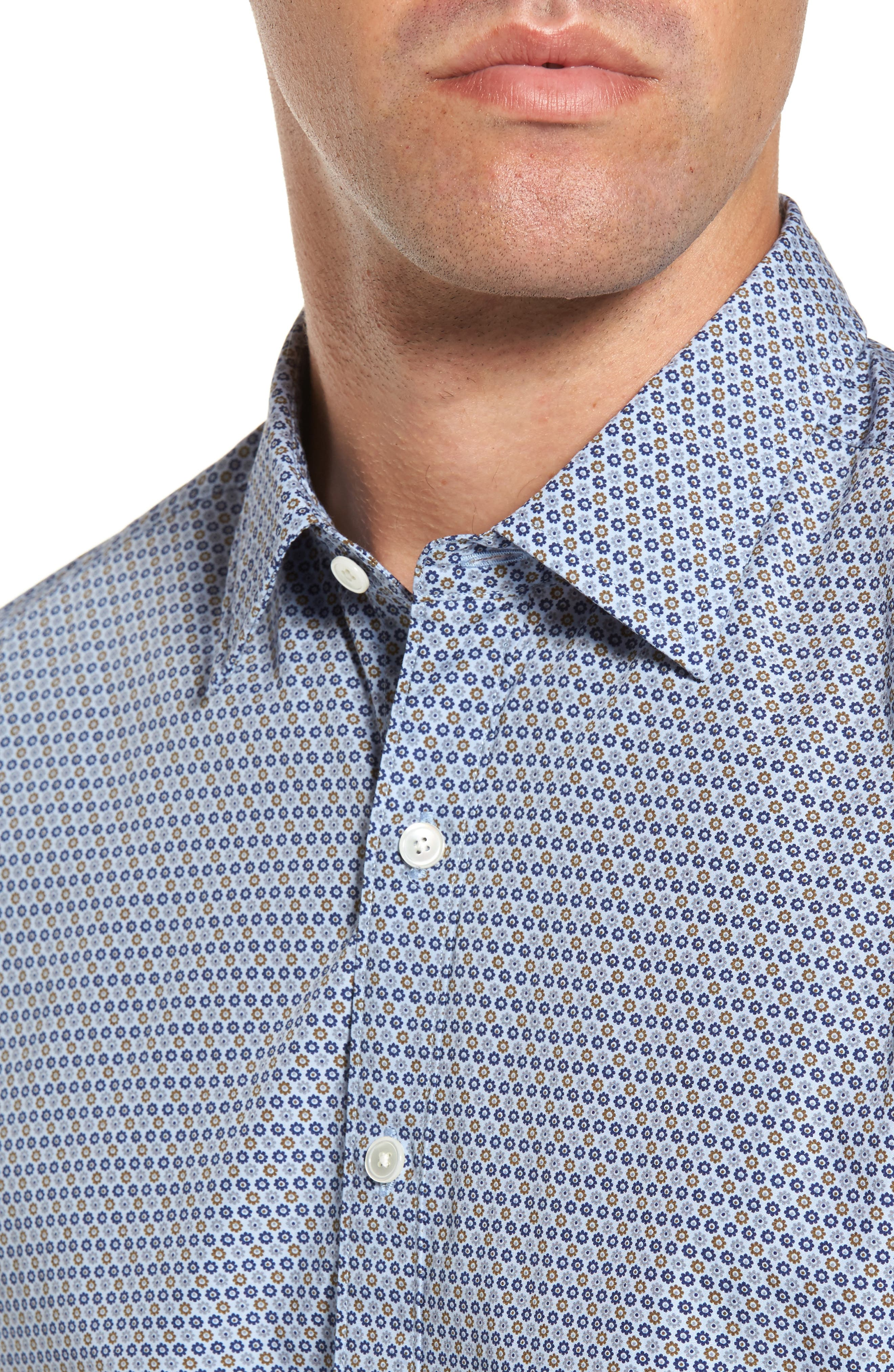Alternate Image 4  - Rodd & Gunn Horseshoe Bay Sports Fit Print Sport Shirt