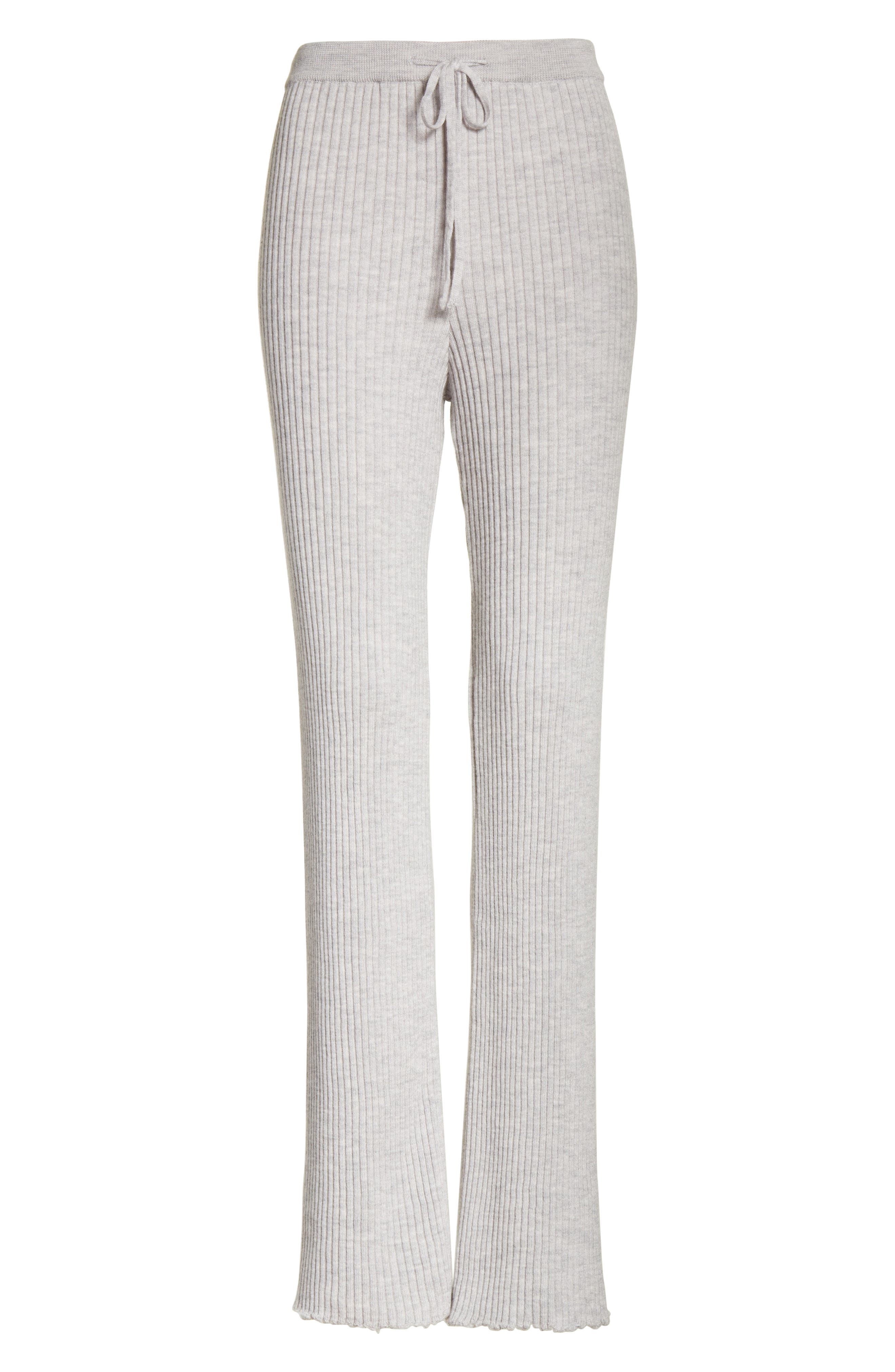 Alternate Image 6  - Marques'Almeida Ribbed Drawstring Sweatpants