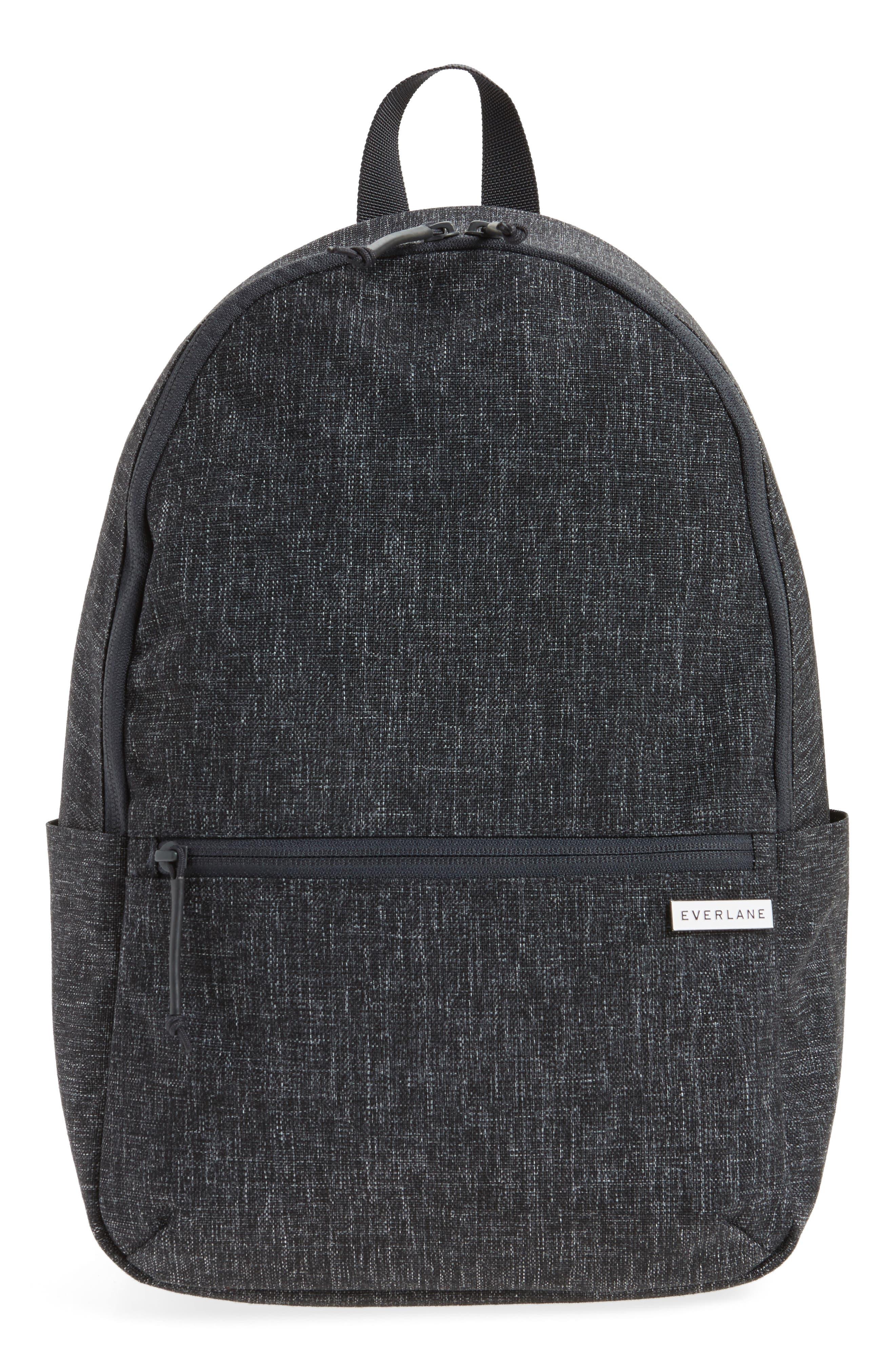 Everlane The Small Street Nylon Zip Backpack