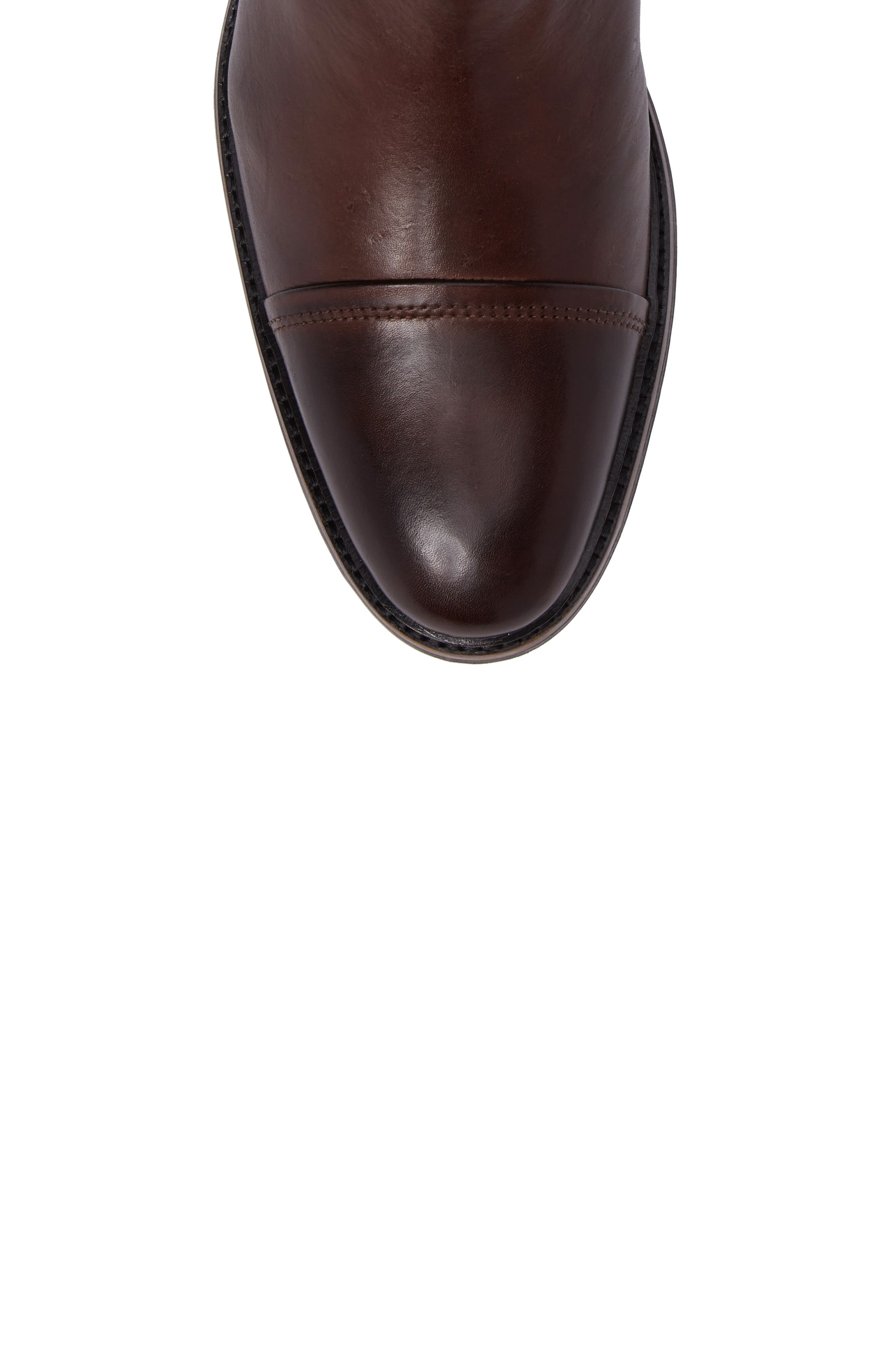 Floriano Chelsea Boot,                             Alternate thumbnail 5, color,                             Touch Castanho