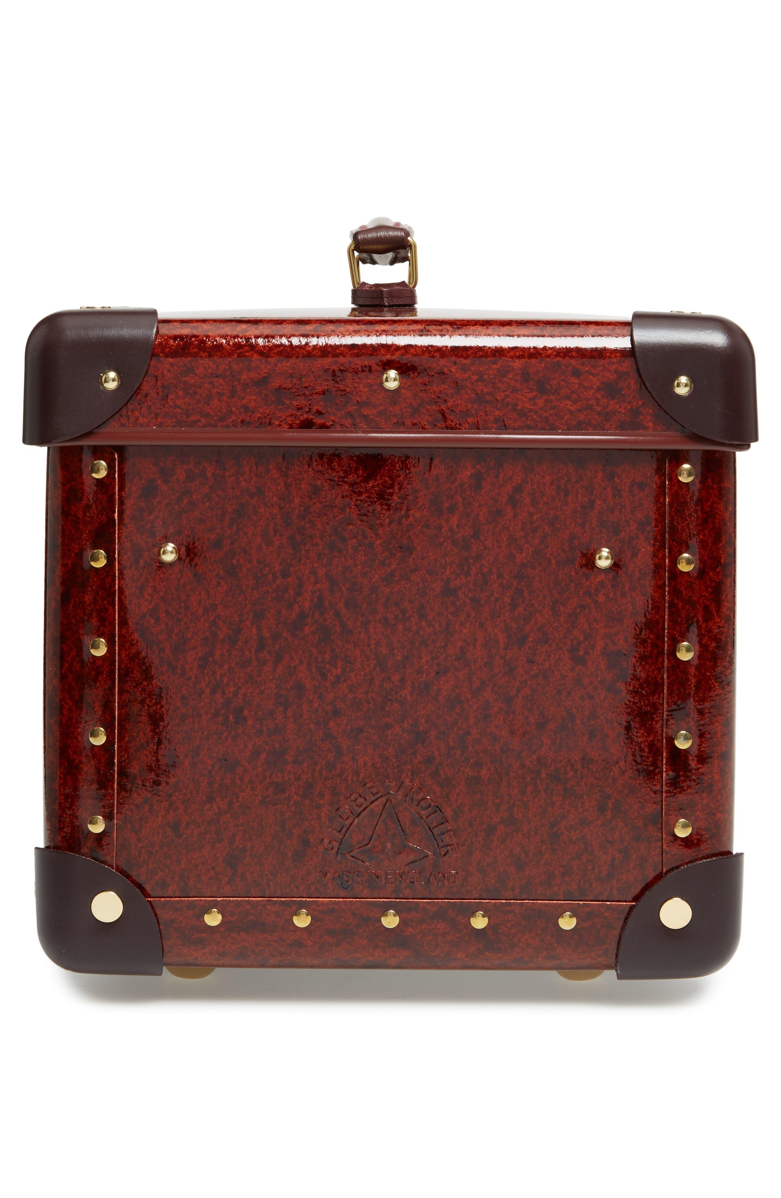 Orient 13-Inch Hardshell Vanity Case,                             Alternate thumbnail 4, color,                             Urushi/ Burgundy