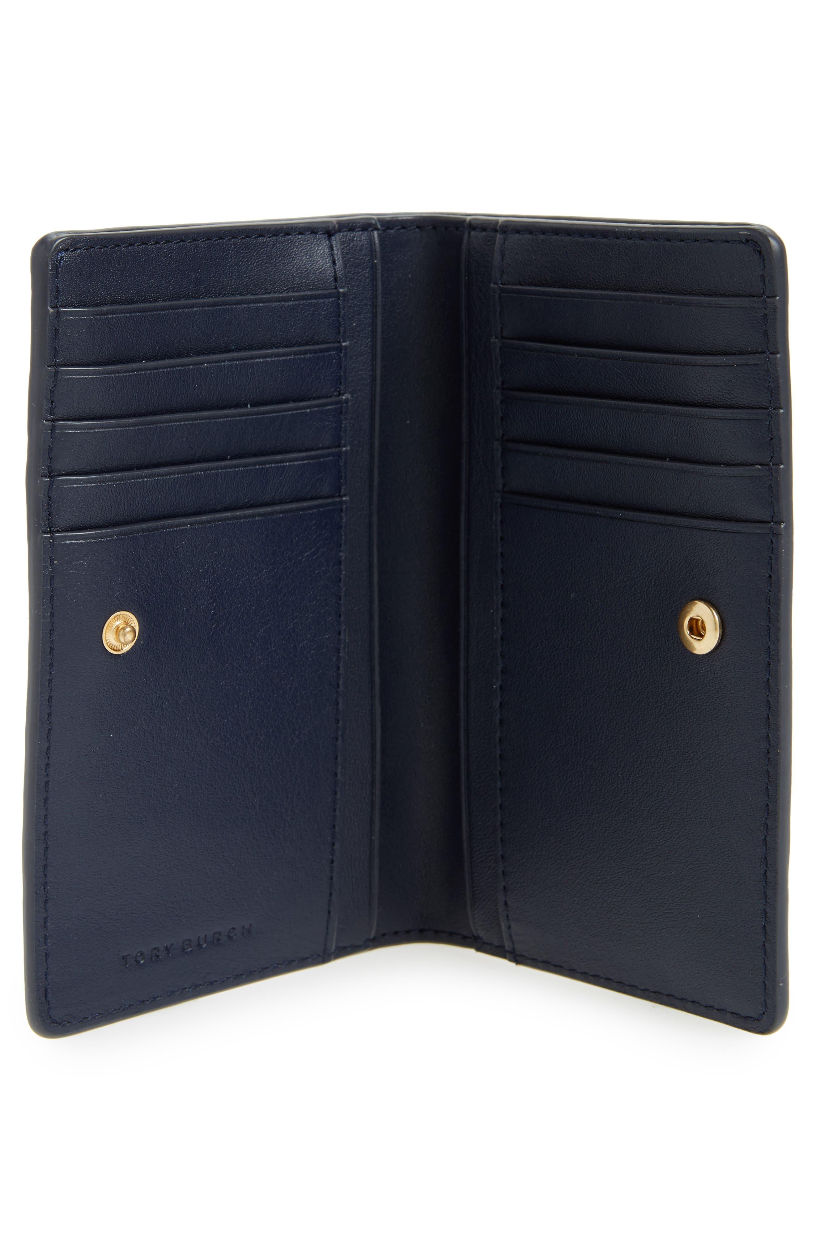 Alternate Image 4  - Tory Burch Parker Slim Croc Embossed Leather Wallet