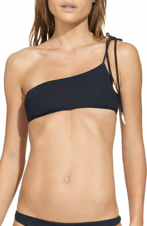 ViX Swimwear One-Shoulder Bikini Top