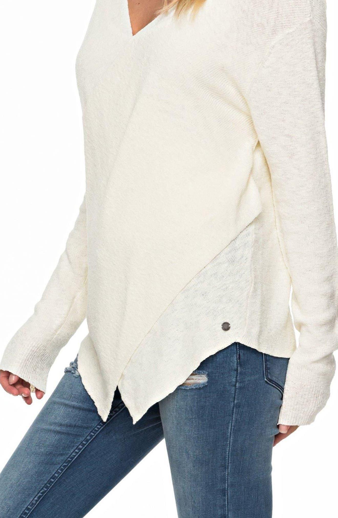 Alternate Image 3  - Roxy Love at First Light Sweater