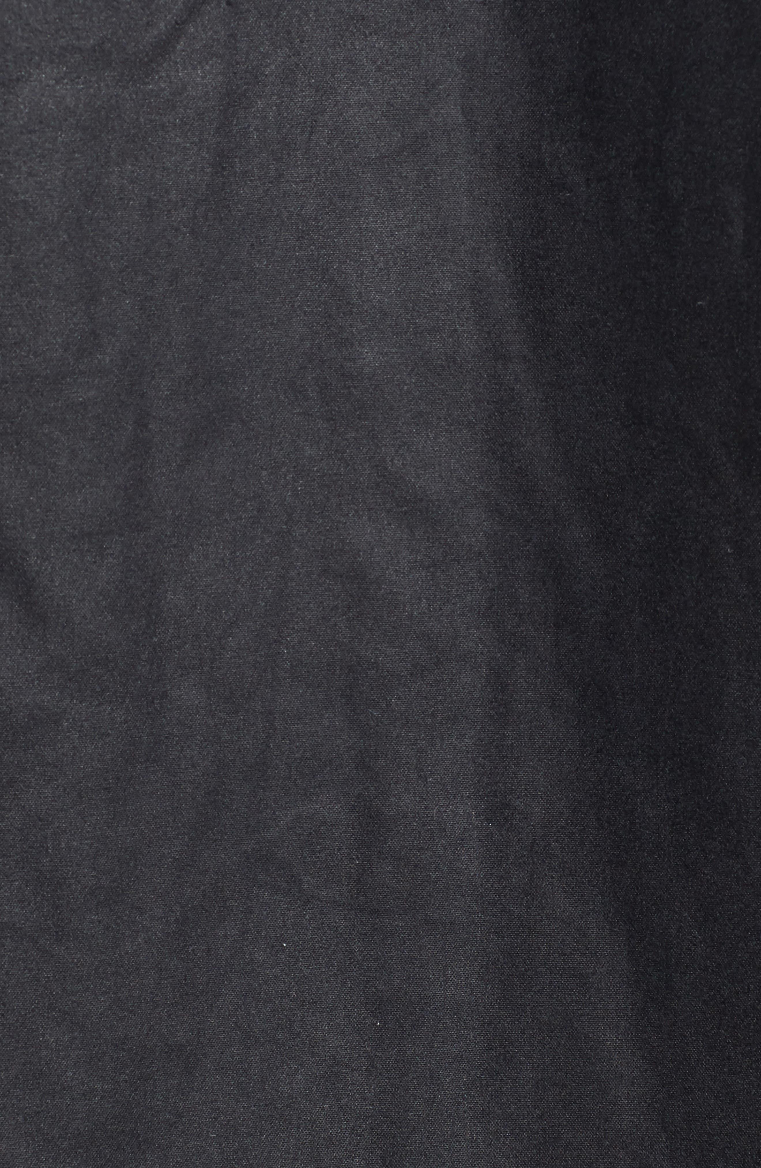 Leighton Waxed Cotton Jacket,                             Alternate thumbnail 5, color,                             Navy
