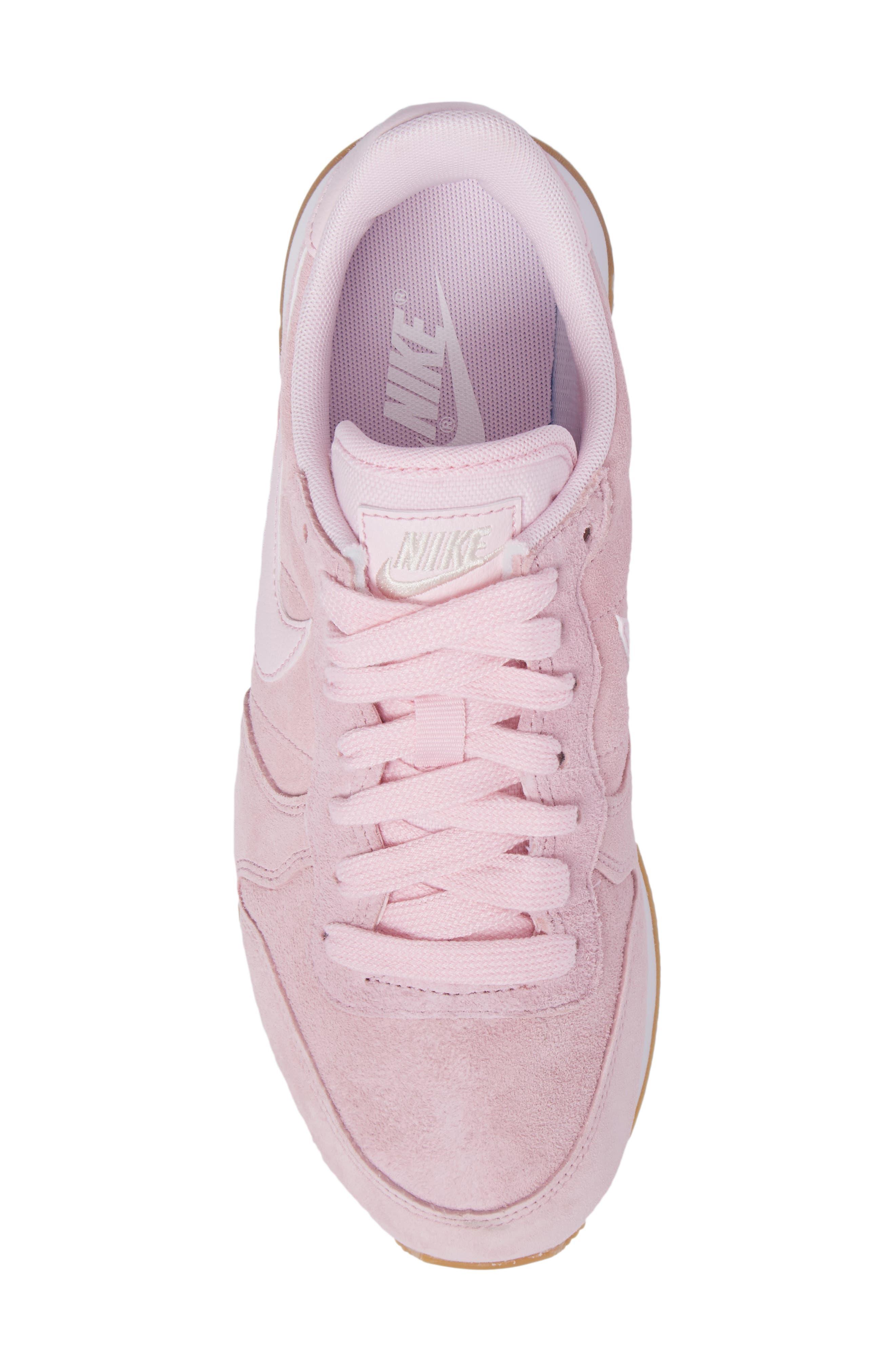 Internationalist SD Sneaker,                             Alternate thumbnail 5, color,                             Prism Pink/ Prism Pink