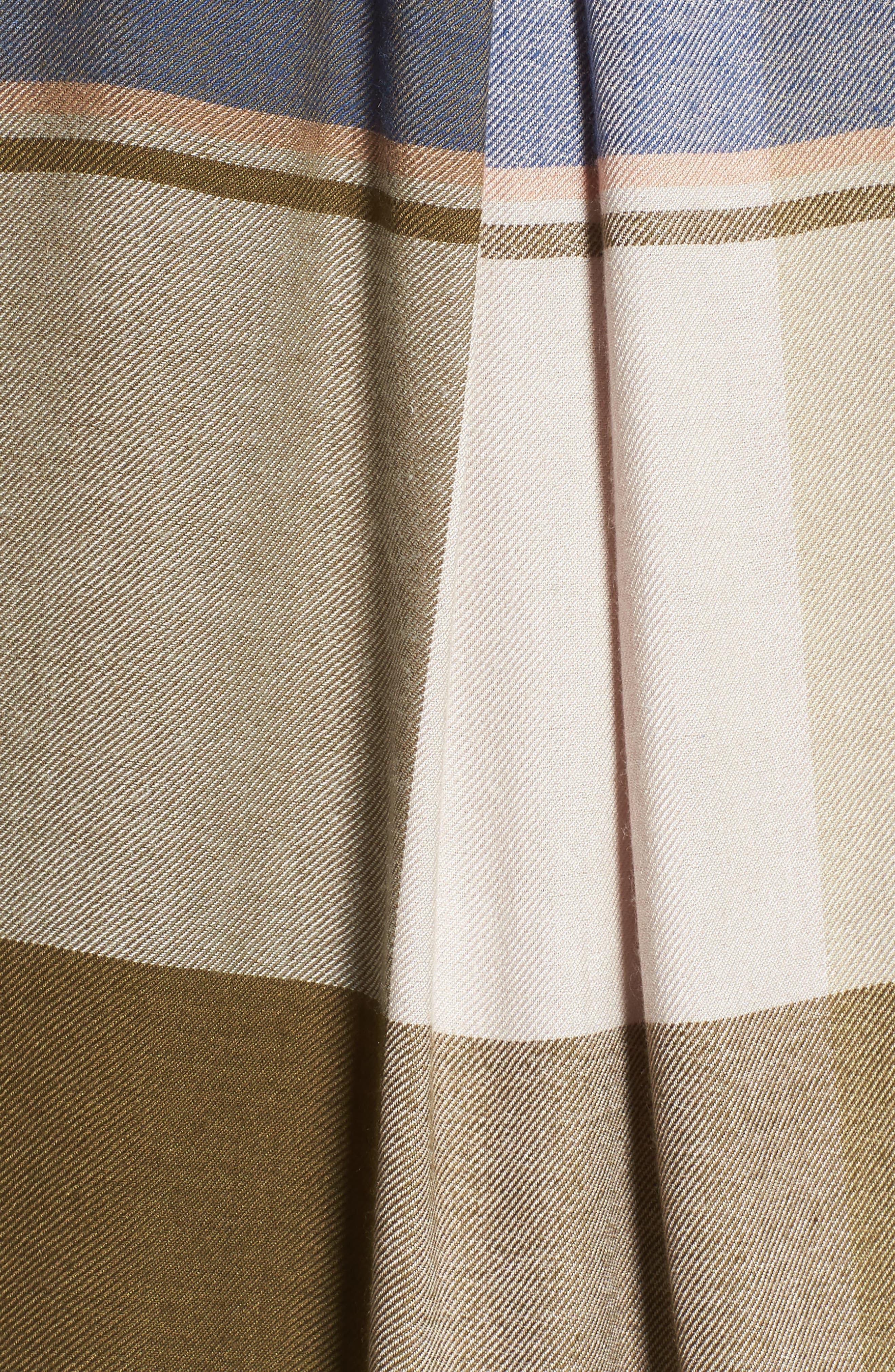 Alternate Image 5  - Lucky Brand Plaid Roll Sleeve Shirt