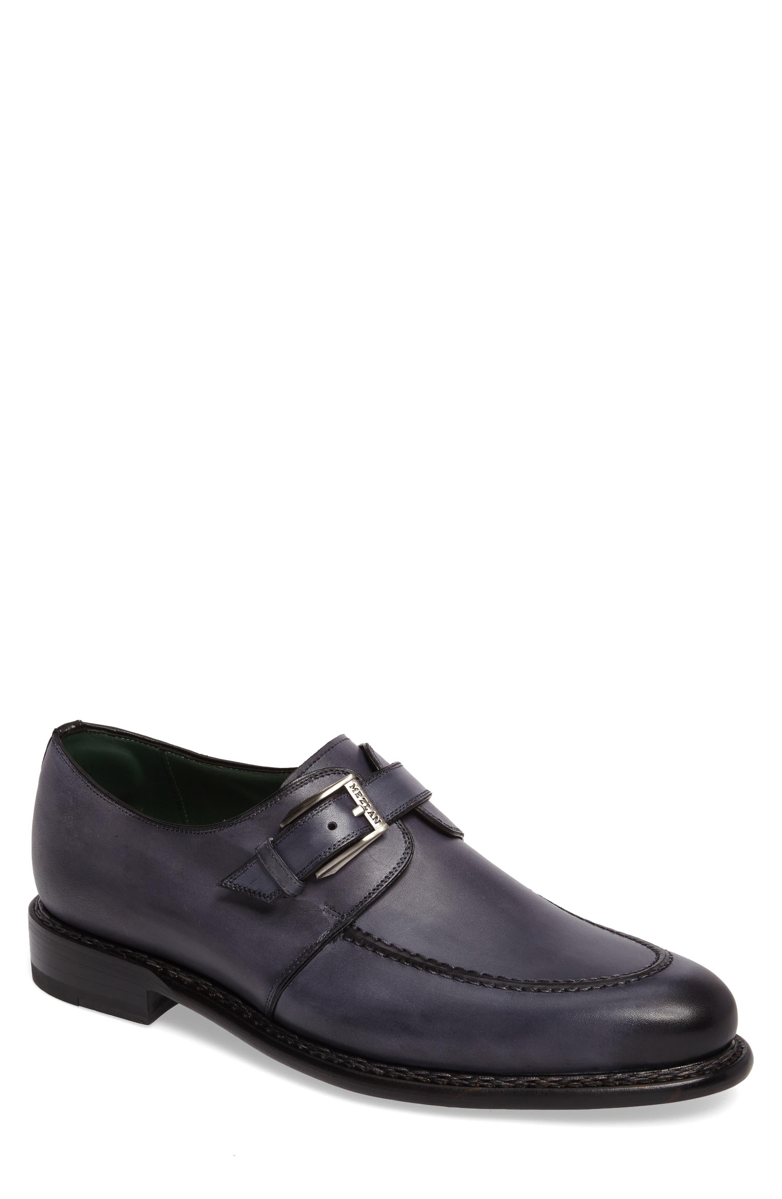 MEZLAN Aguilar Monk Strap Shoe