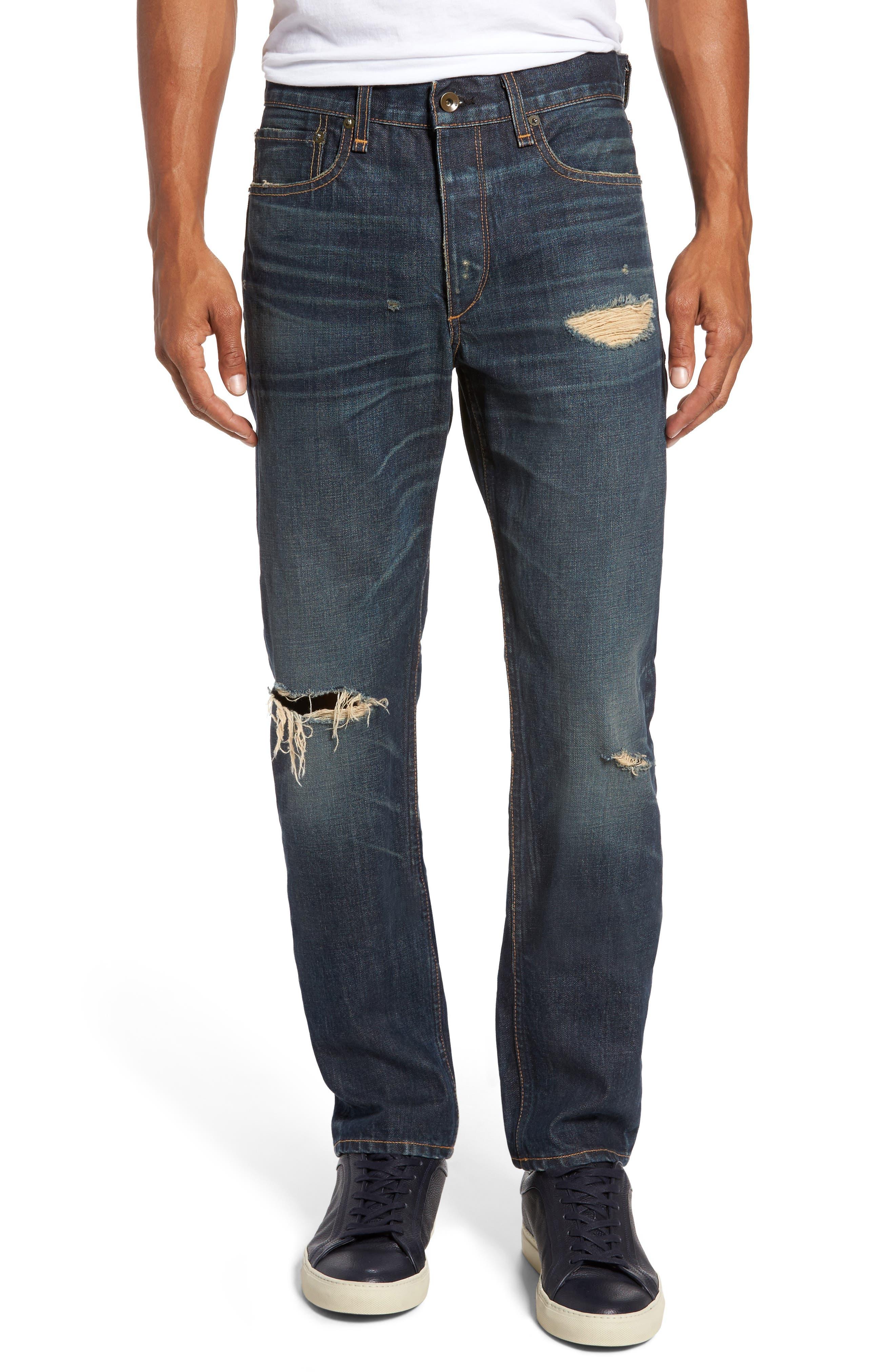 Alternate Image 1 Selected - rag & bone Fit 2 Slim Fit Jeans (Zeitgeist)