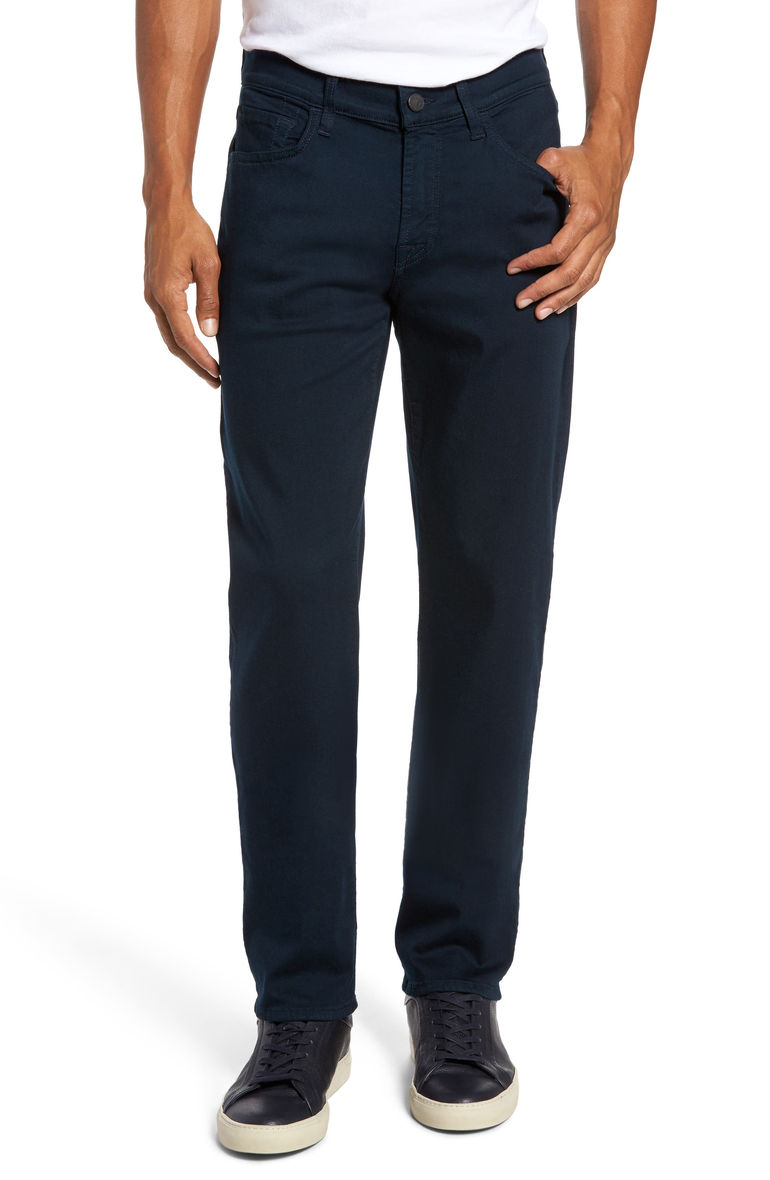 Main Image - 7 For All Mankind® Slimmy Slim Fit Jeans (Midnight)