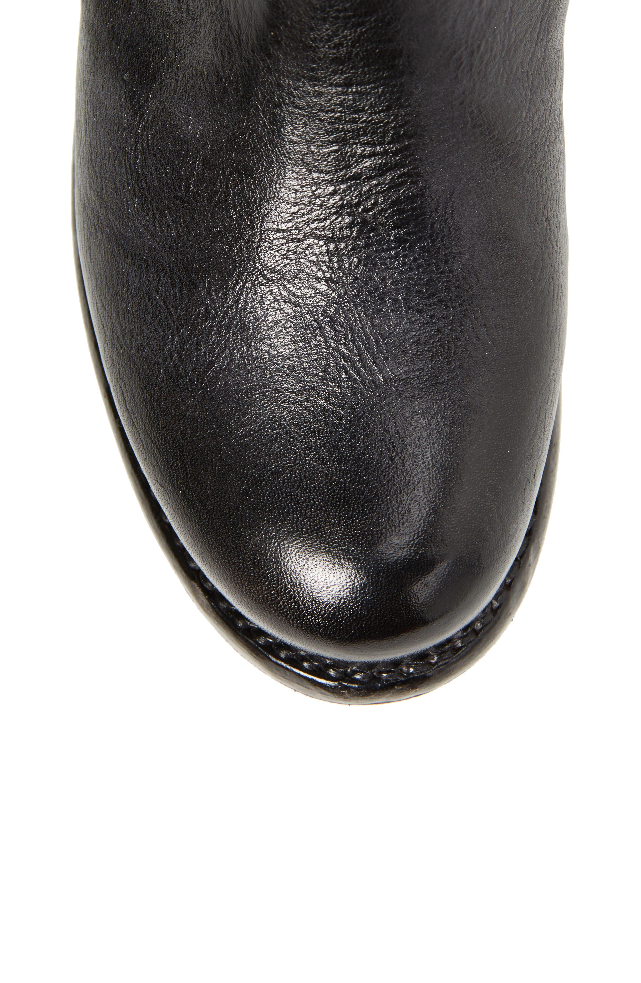 'Glaye' Tall Boot,                             Alternate thumbnail 5, color,                             Graphito Rustic