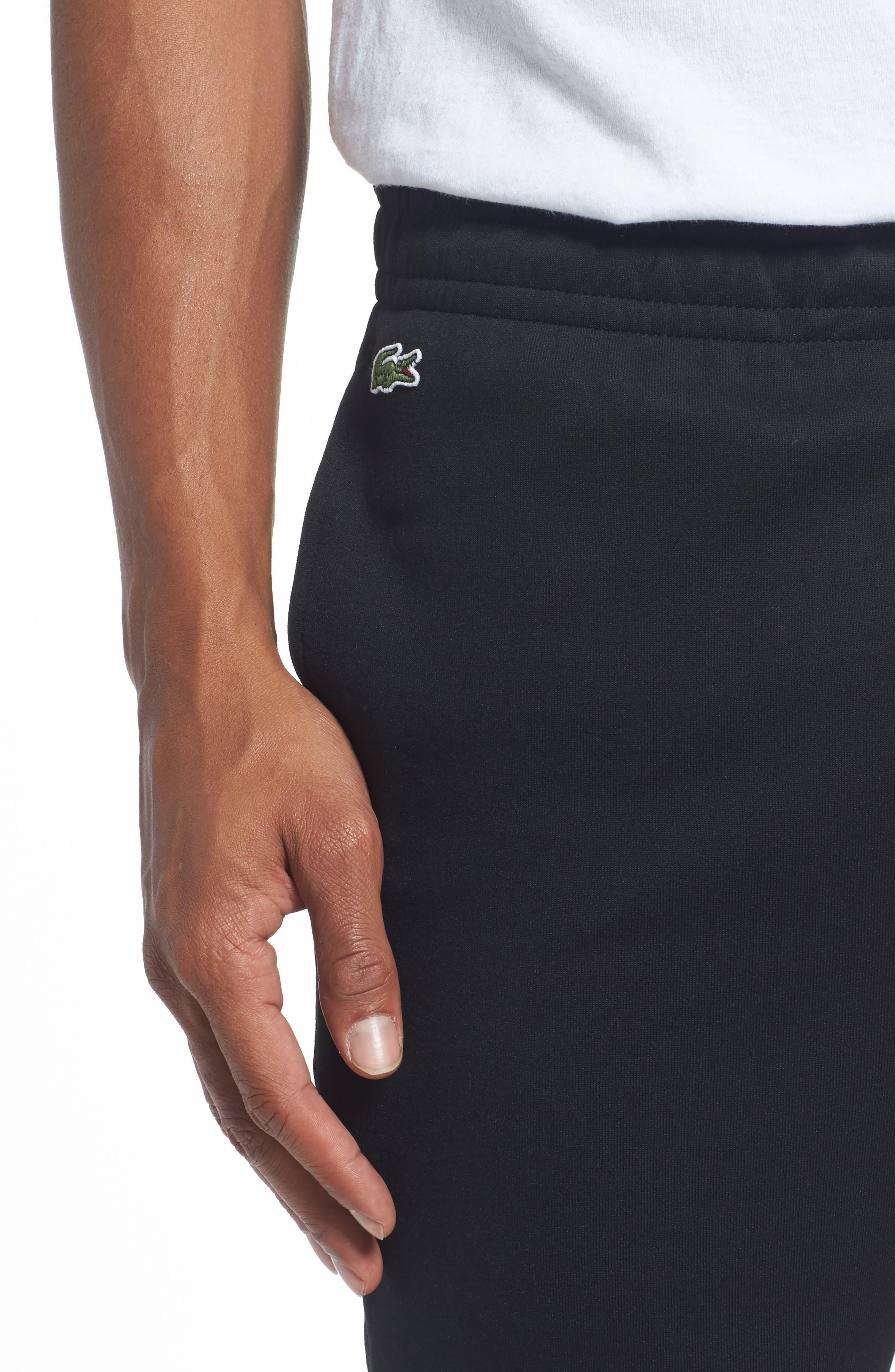 Tapered Jogger Pants,                             Alternate thumbnail 4, color,                             Black