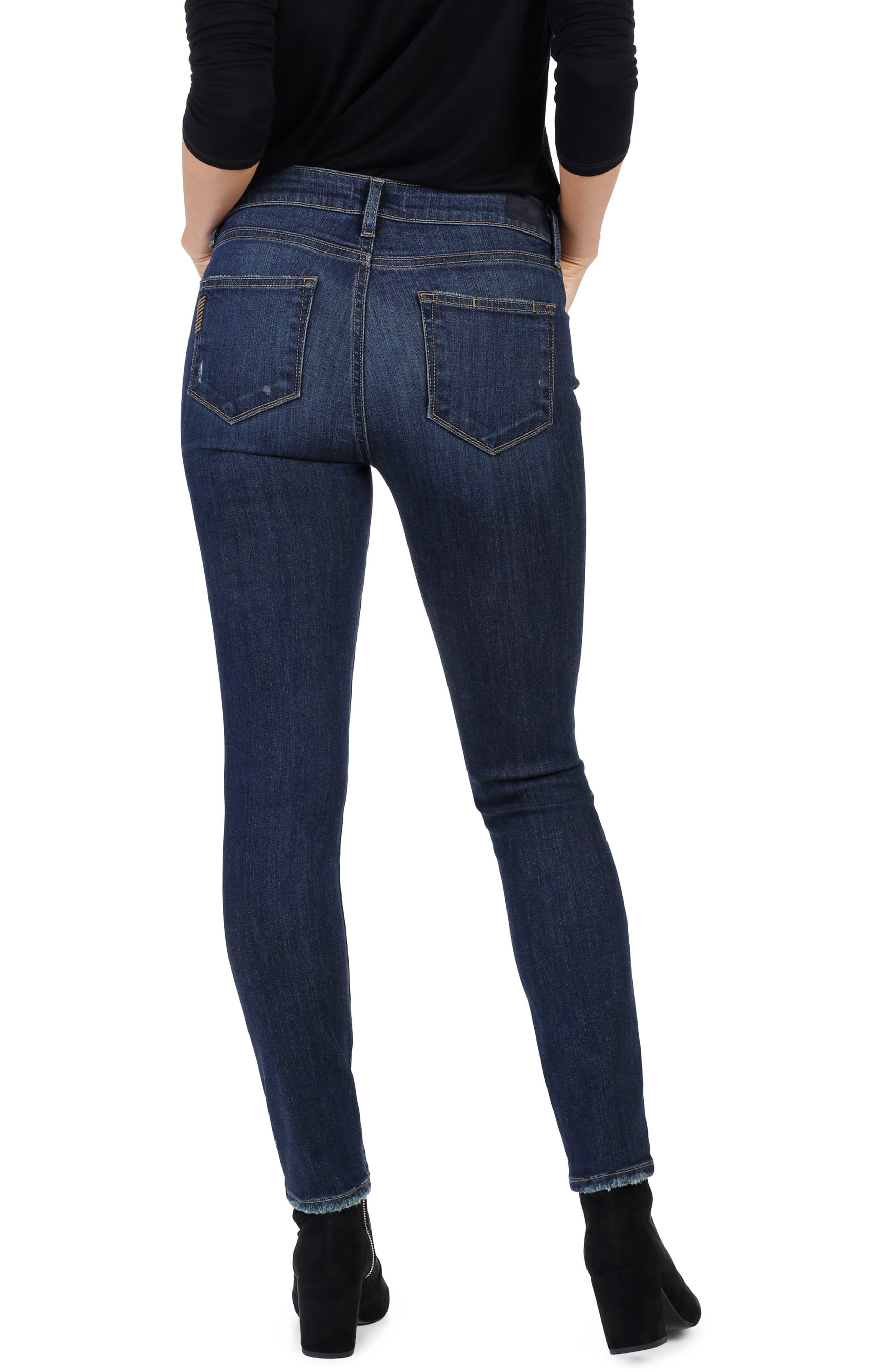 Alternate Image 2  - PAIGE Transcend Vintage - Verdugo Ultra Skinny Jeans (Clearly Destructed)
