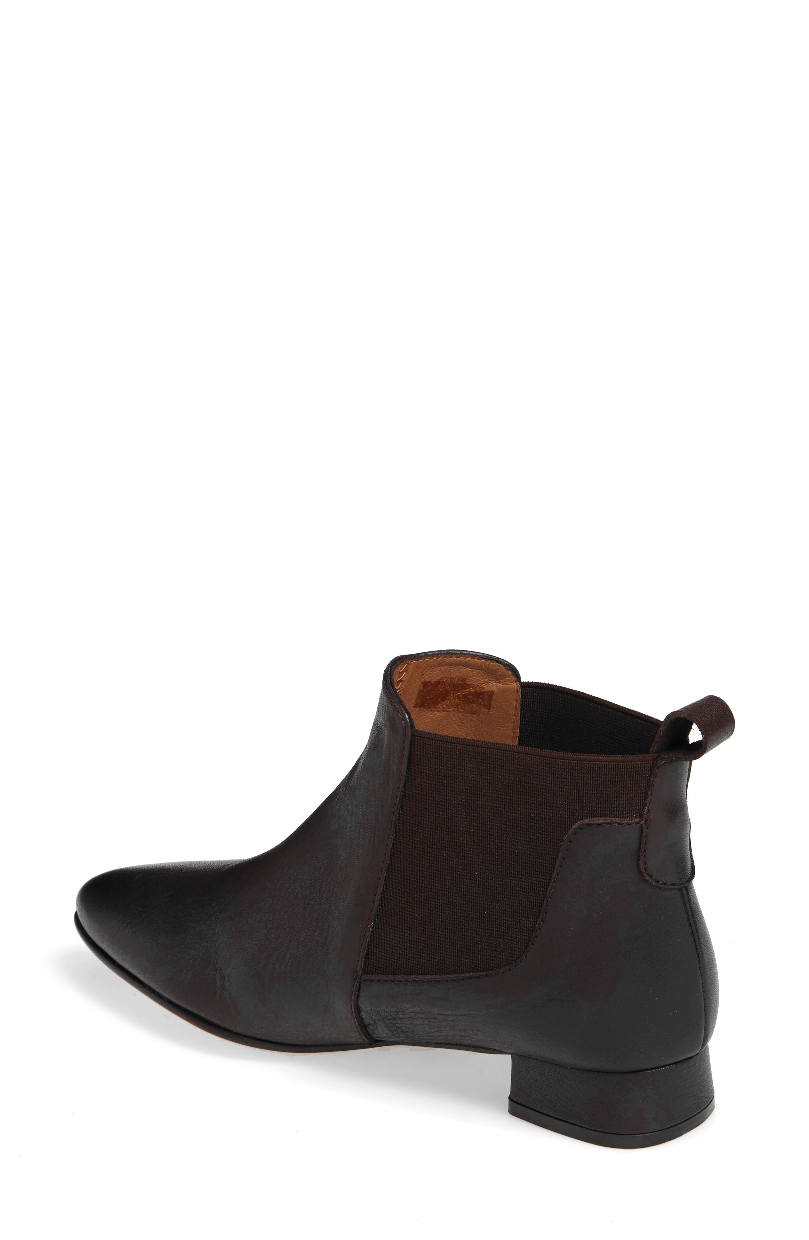 Newbury Bootie,                             Alternate thumbnail 2, color,                             Chocolate Leather