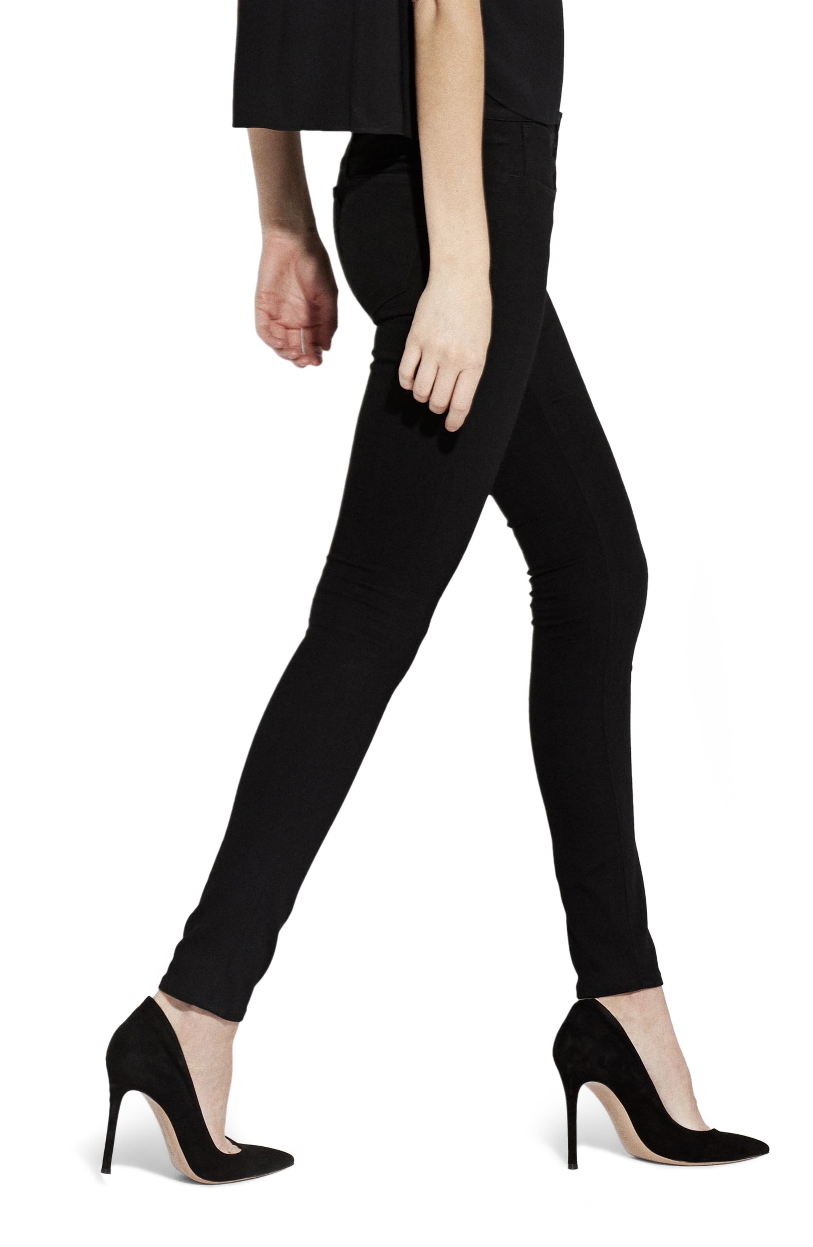 Alternate Image 2  - AYR The Skinny Jeans (Jet Black)