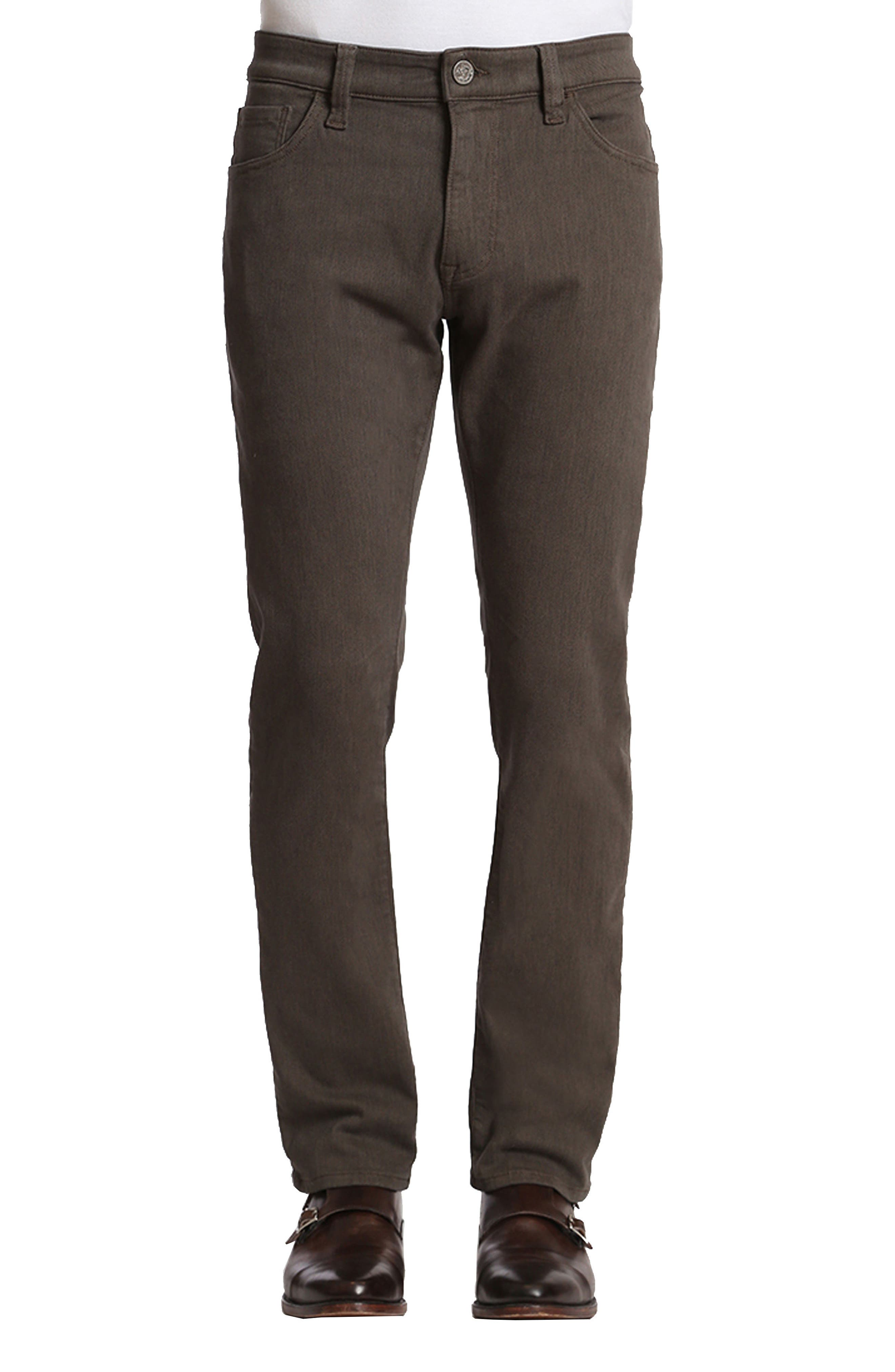 34 Heritage Charisma Relaxed Fit Jeans (Taupe Diagonal)