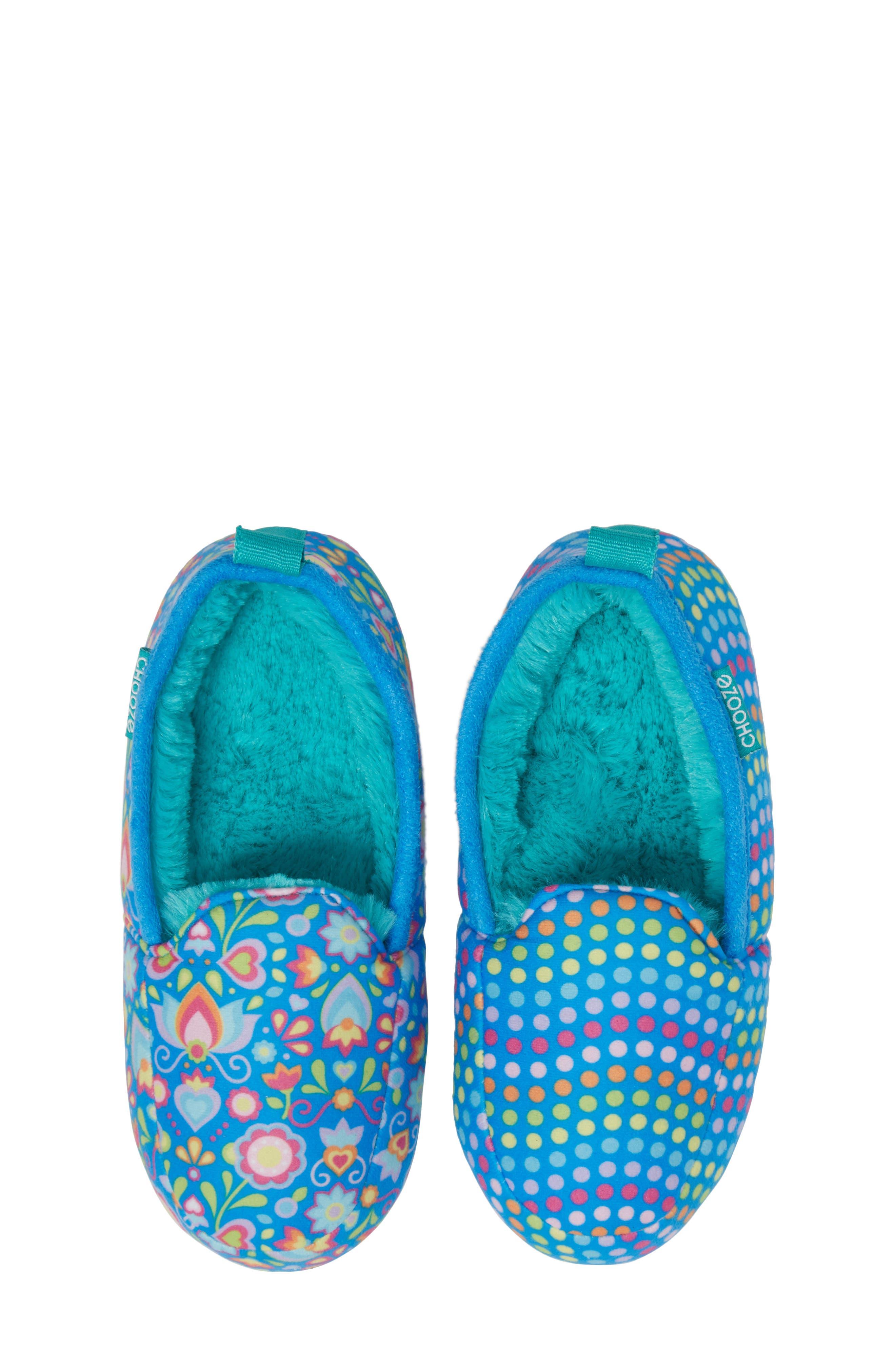 Alternate Image 5  - CHOOZE 'Slumber' Slippers (Toddler, Little Kid & Big Kid)