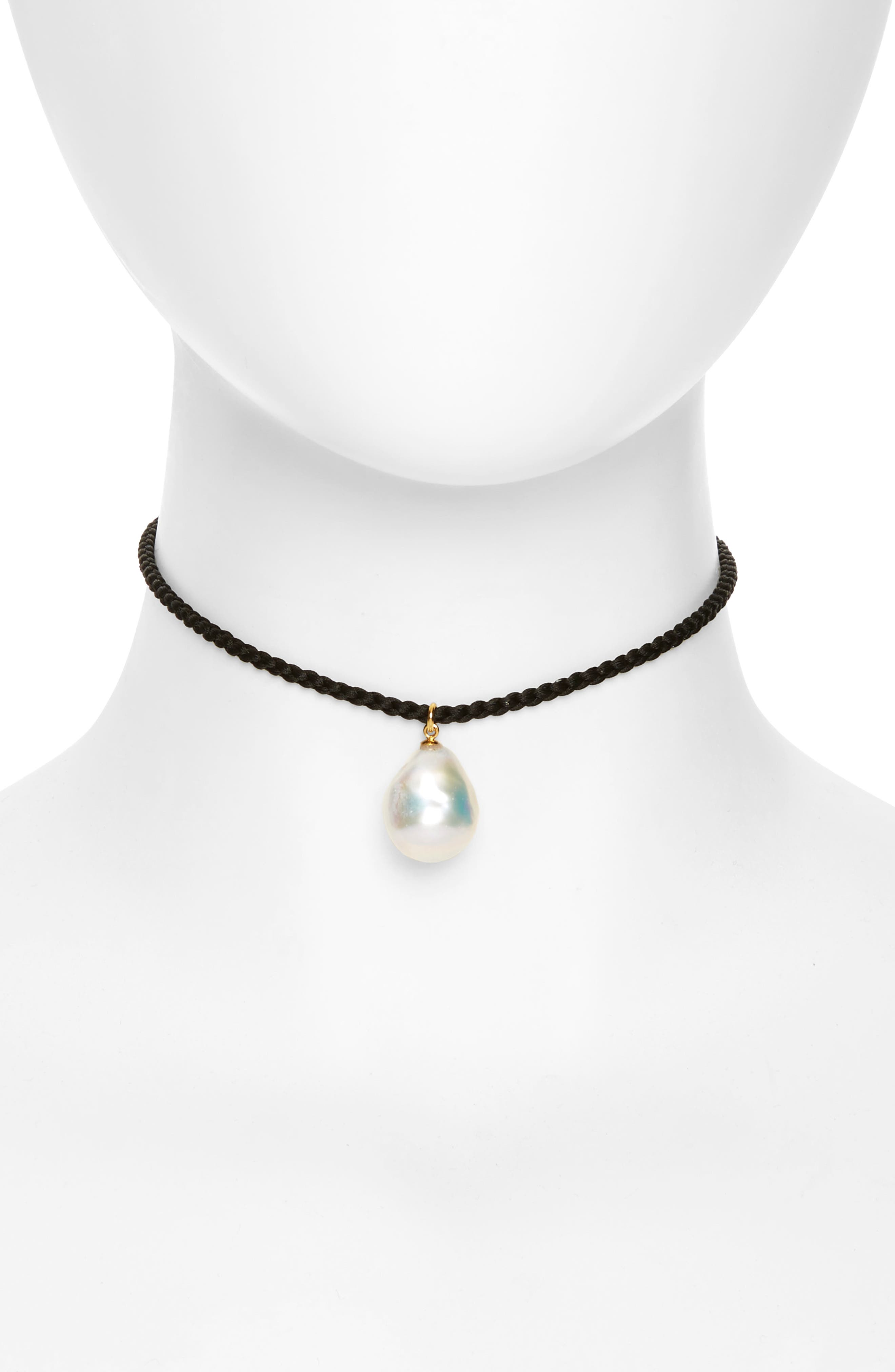 Alternate Image 1 Selected - Lizzie Fortunato Best Friends Pearl Choker