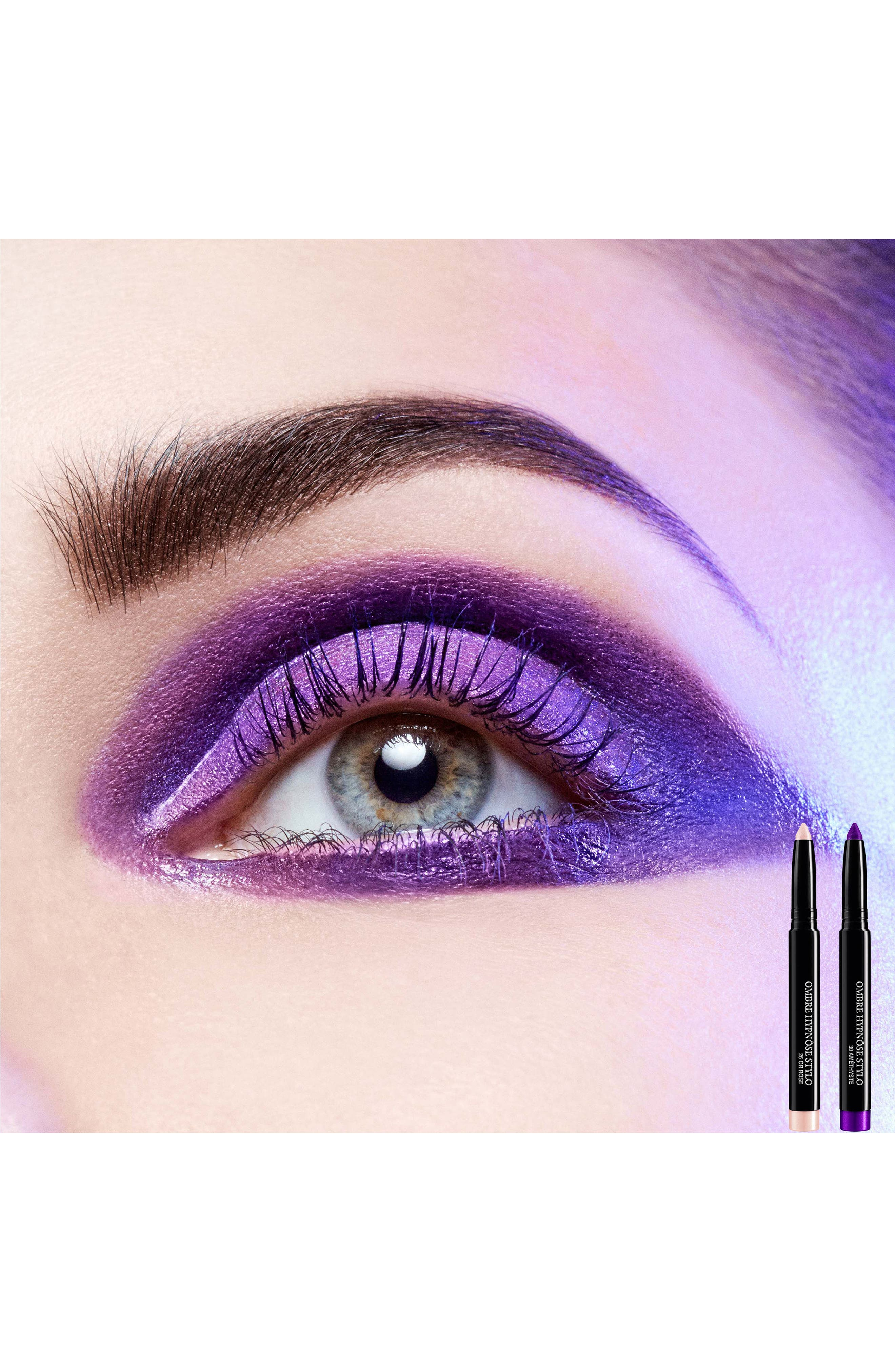 'Ombre Hypnôse Stylo' Eyeshadow,                             Alternate thumbnail 5, color,                             Amethyste