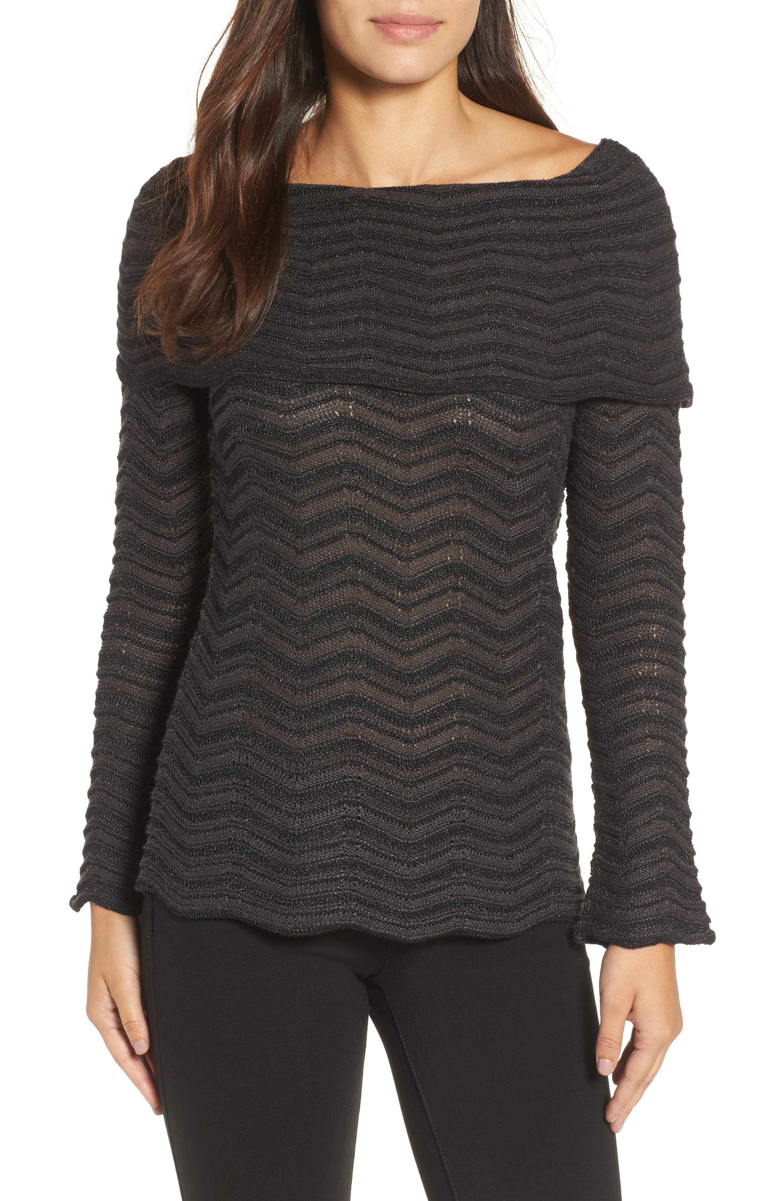 NIC+ZOE Over the Shoulder Top (Regular & Petite)