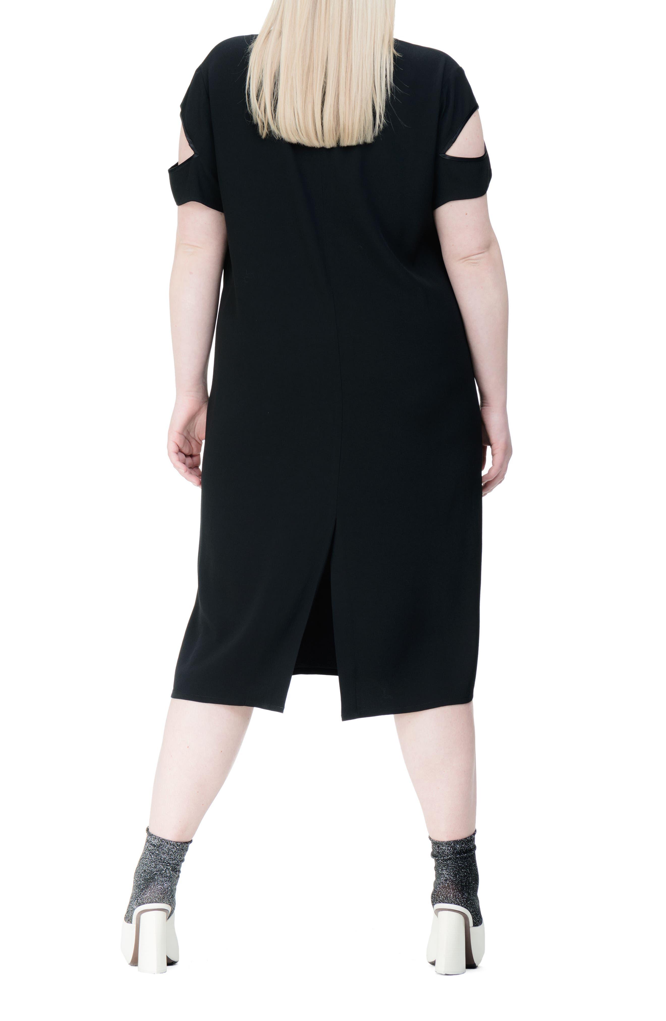 Alternate Image 2  - UNIVERSAL STANDARD Newland Shift Dress (Plus Size)