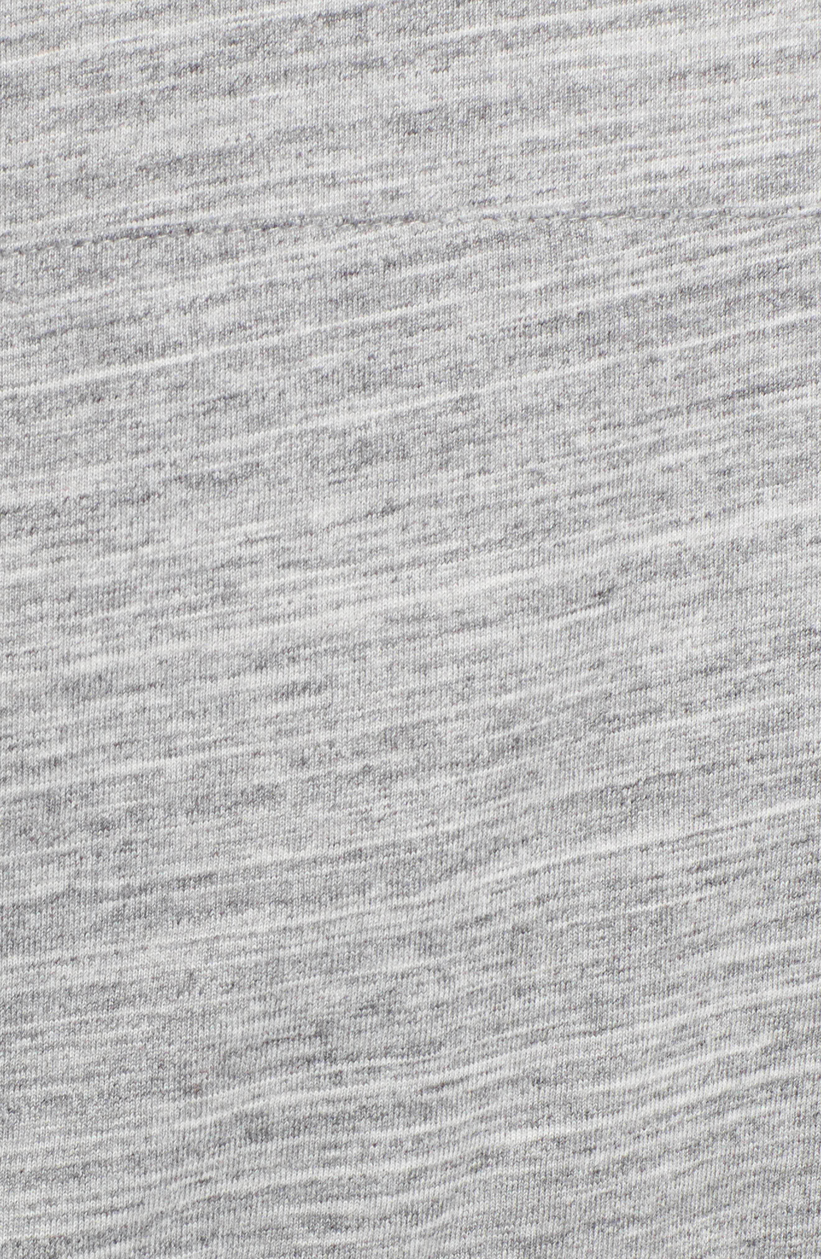 Revolve Denver Broncos Hoodie,                             Alternate thumbnail 5, color,                             Space Dye Grey