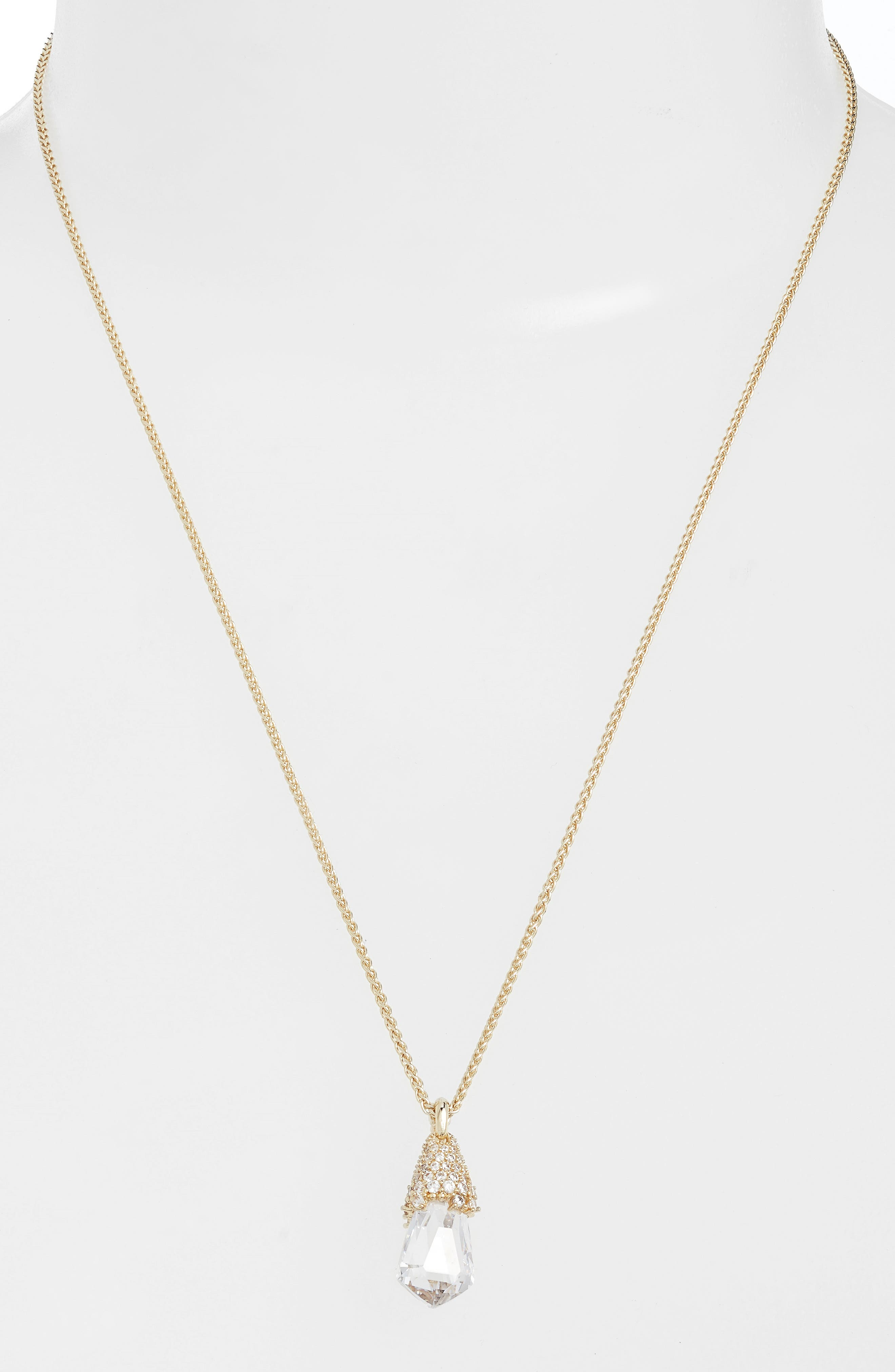 Main Image - Kendra Scott Ella Convertible Teardrop Pendant Necklace