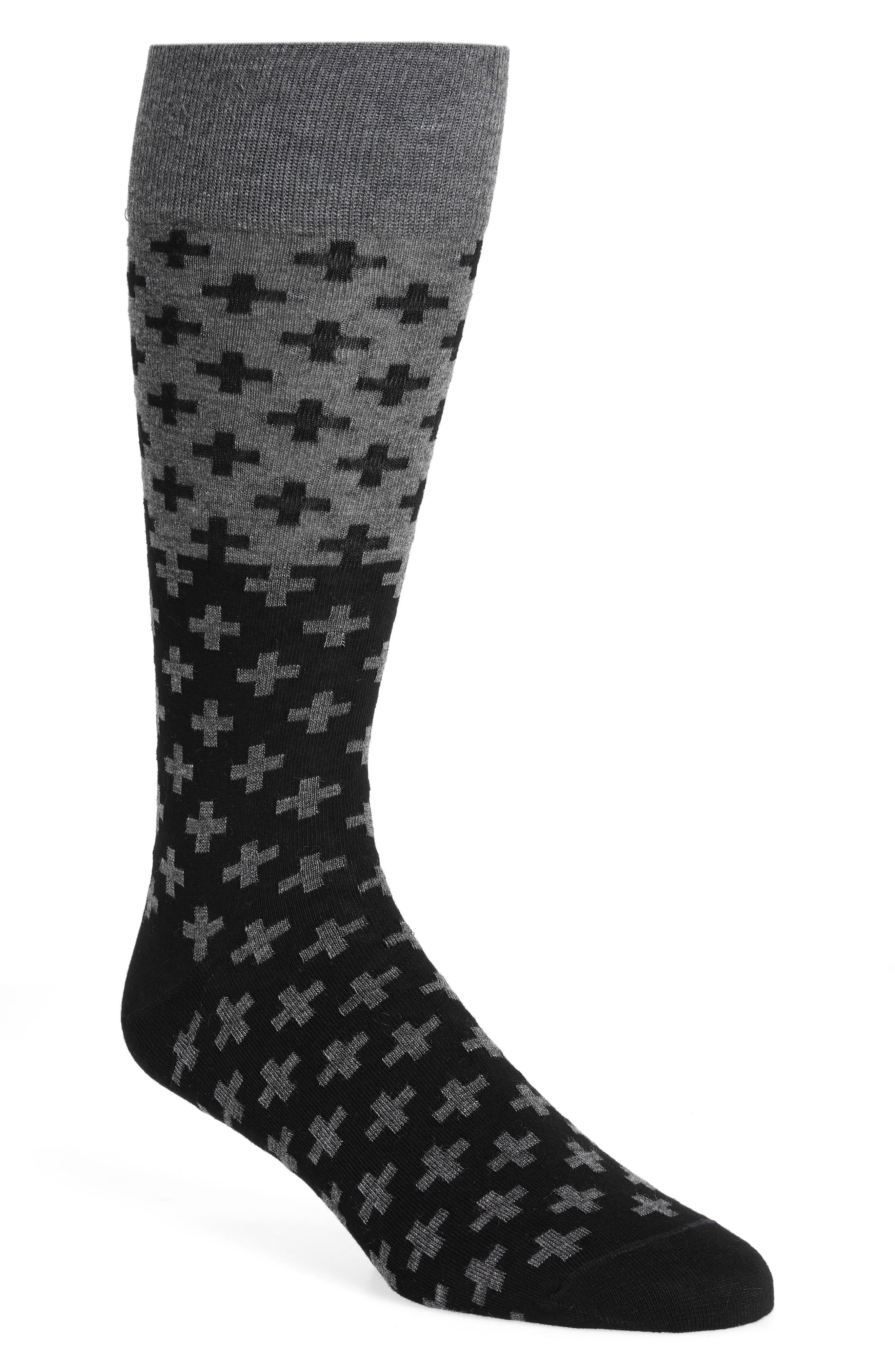 Alternate Image 1 Selected - Calibrate Cross Socks (3 for $30)