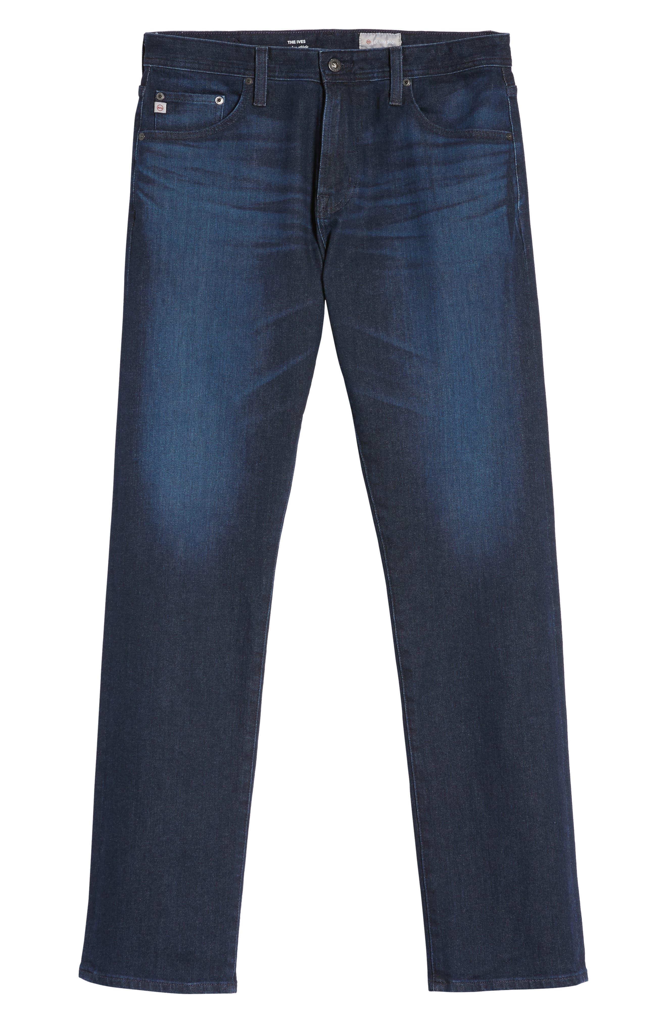 Alternate Image 6  - AG Ives Straight Leg Jeans (Vibe)