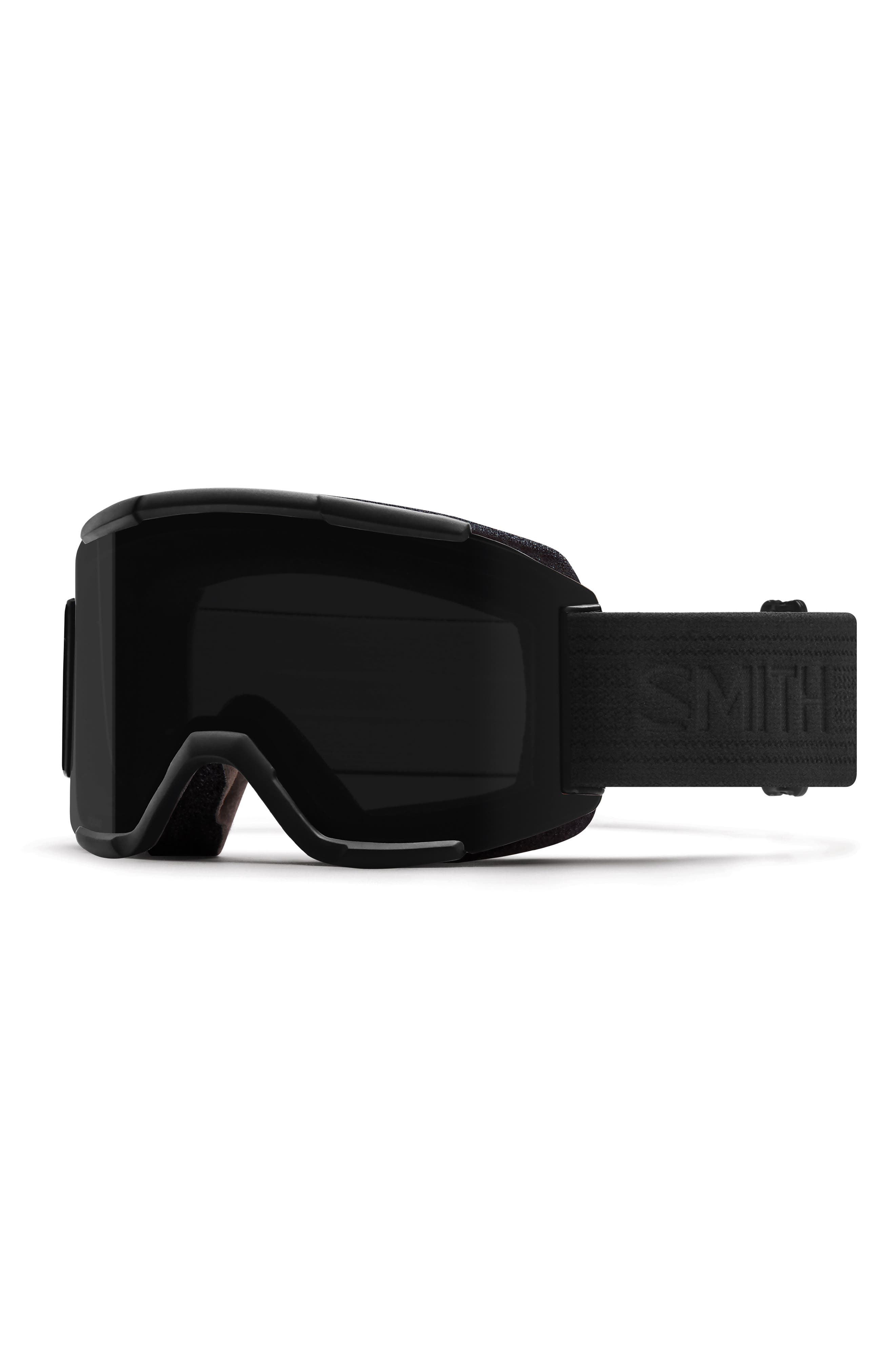 Squad Chromapop 180mm Snow Goggles,                         Main,                         color, Blackout
