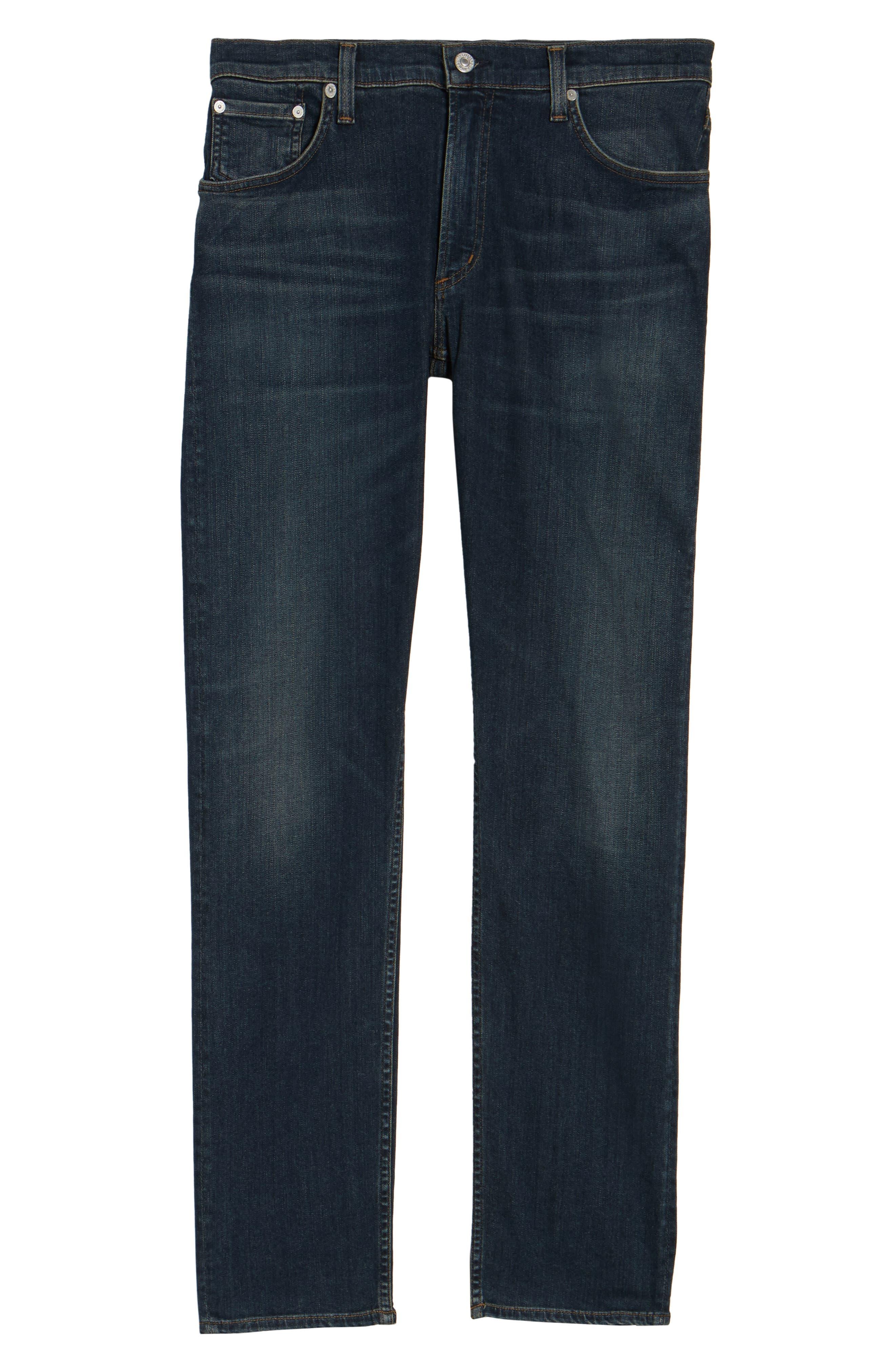 PERFORM - Bowery Slim Fit Jeans,                             Alternate thumbnail 6, color,                             Kingman