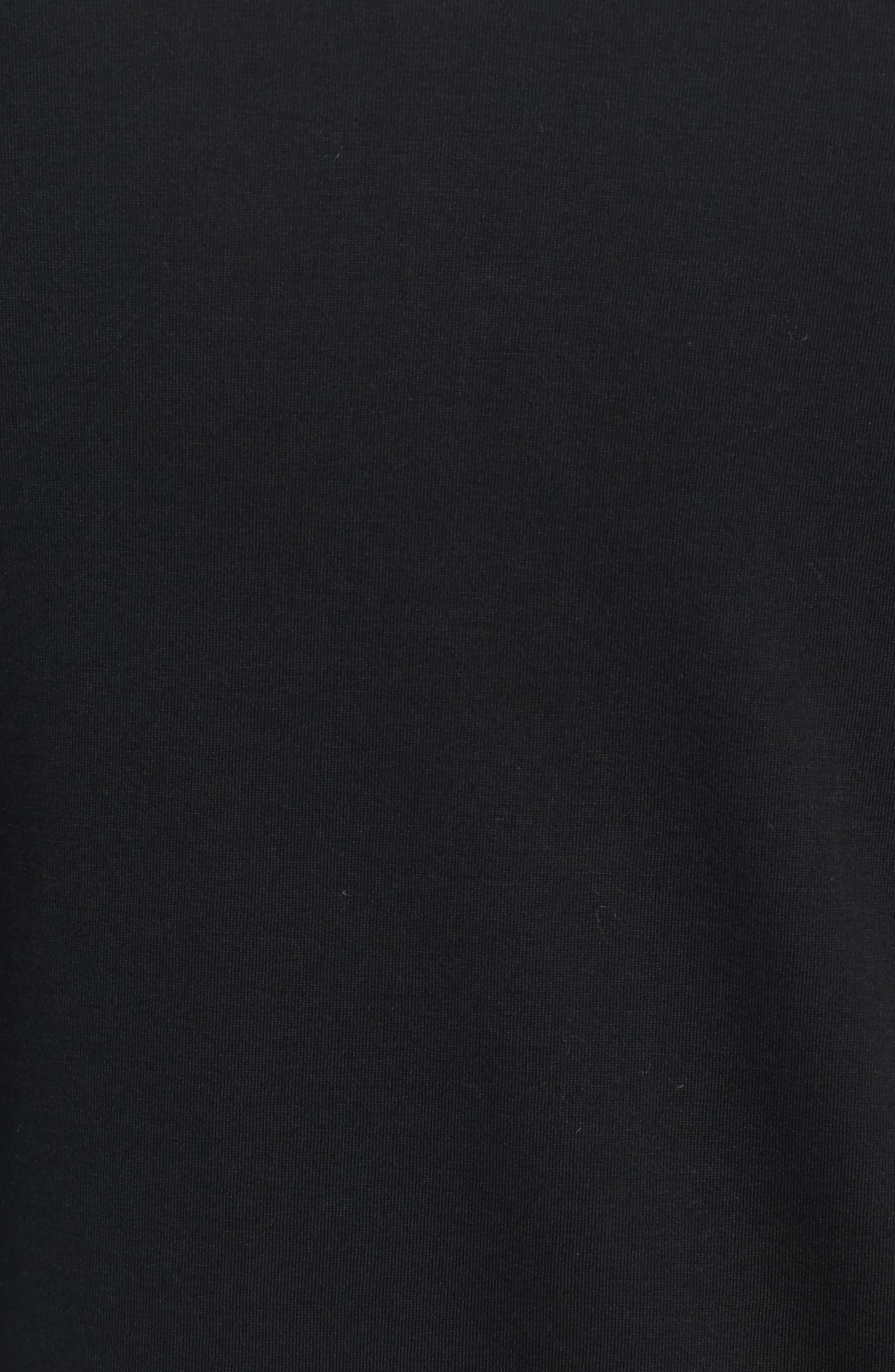 Henley T-Shirt,                             Alternate thumbnail 5, color,                             Black