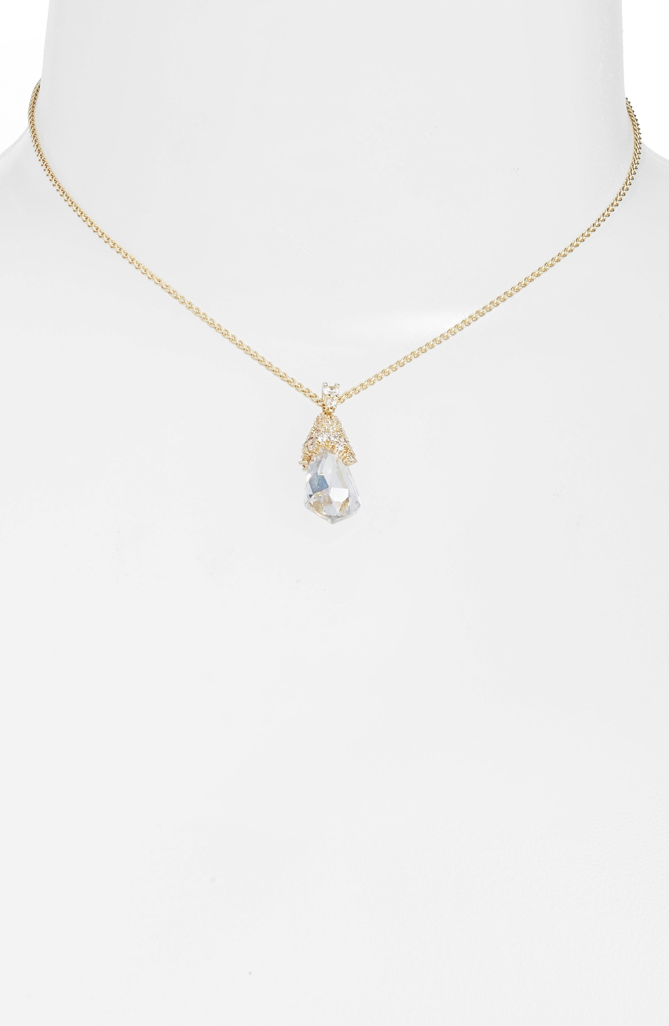 Alternate Image 3  - Kendra Scott Ella Convertible Teardrop Pendant Necklace