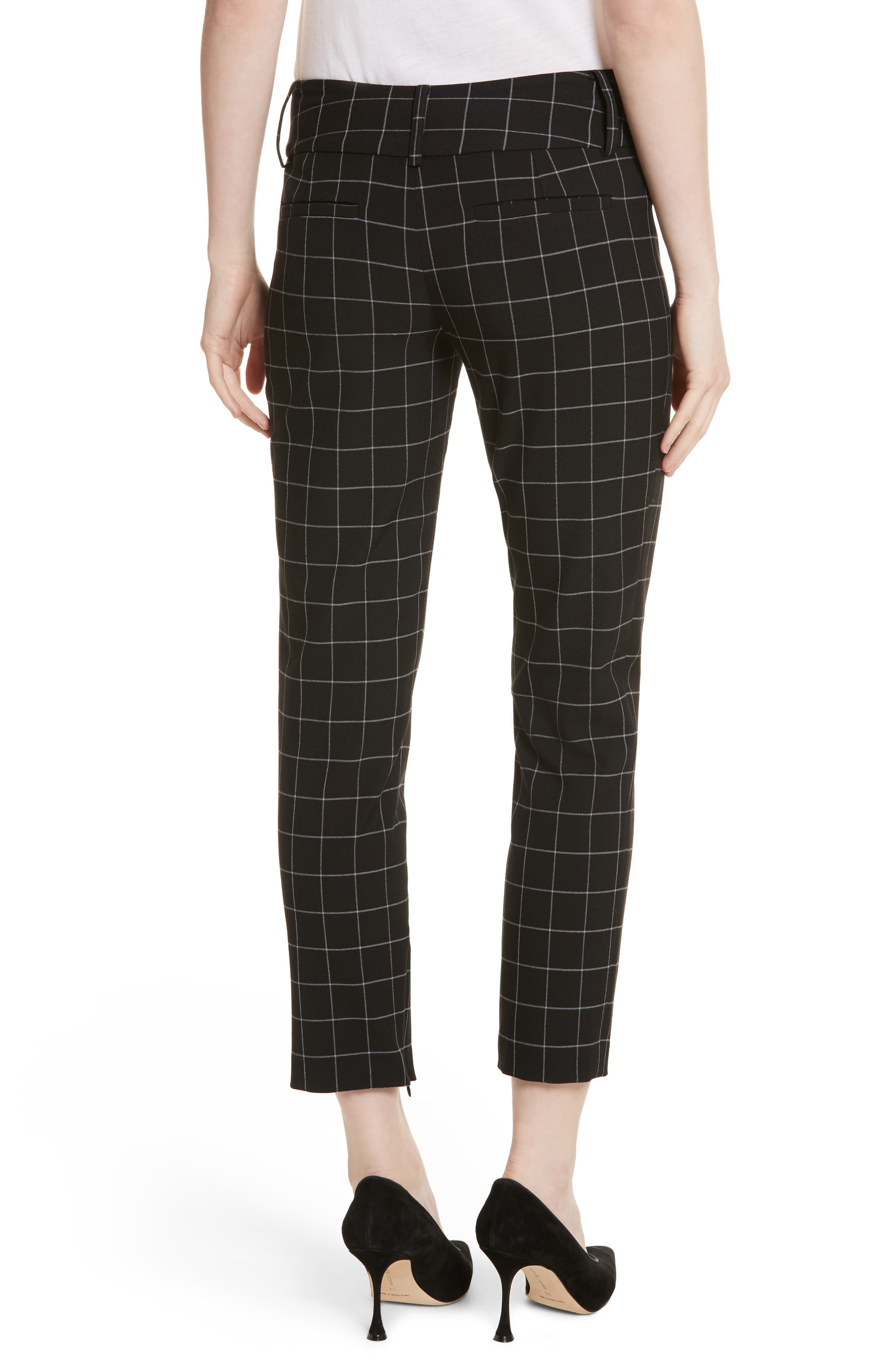 Alternate Image 2  - Alice + Olivia Stacey Slim Ankle Pants