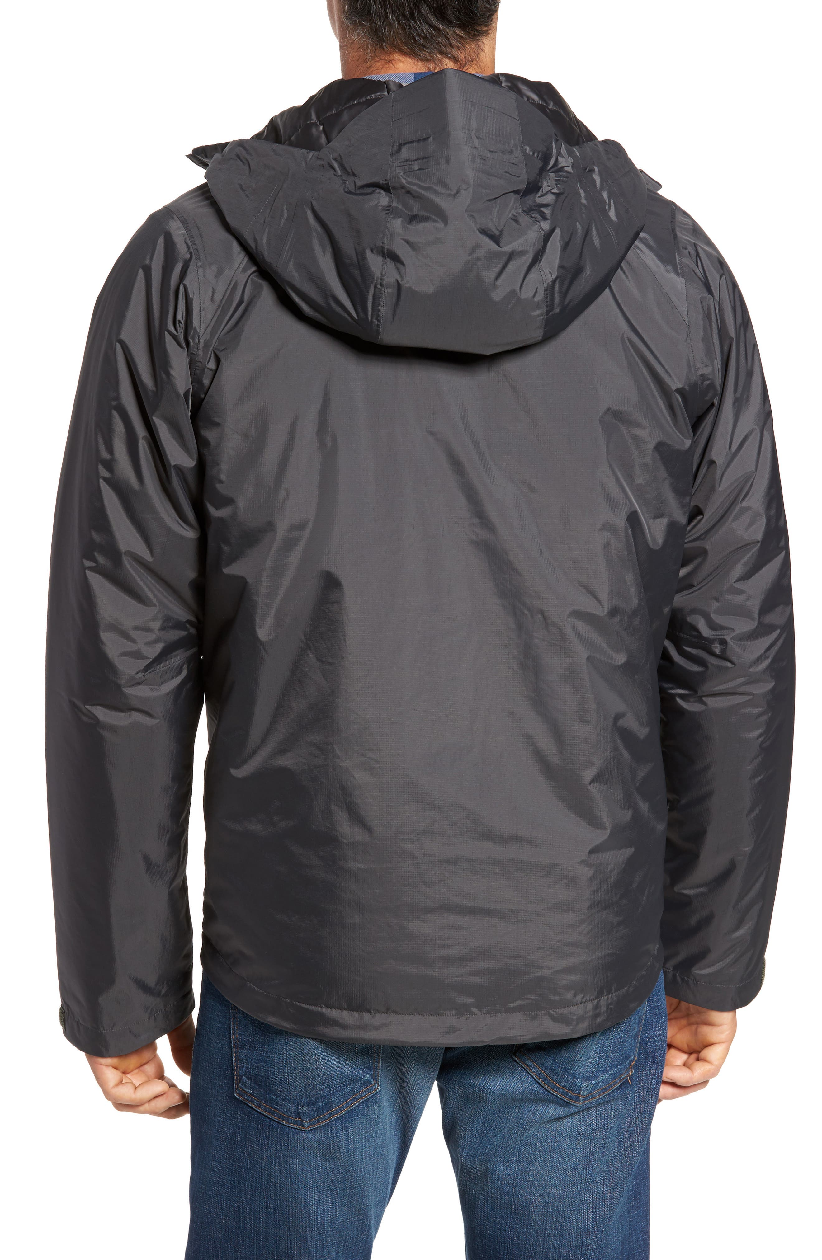 Torrentshell H2No<sup>®</sup> Packable Insulated Rain Jacket,                             Alternate thumbnail 2, color,                             Forge Grey