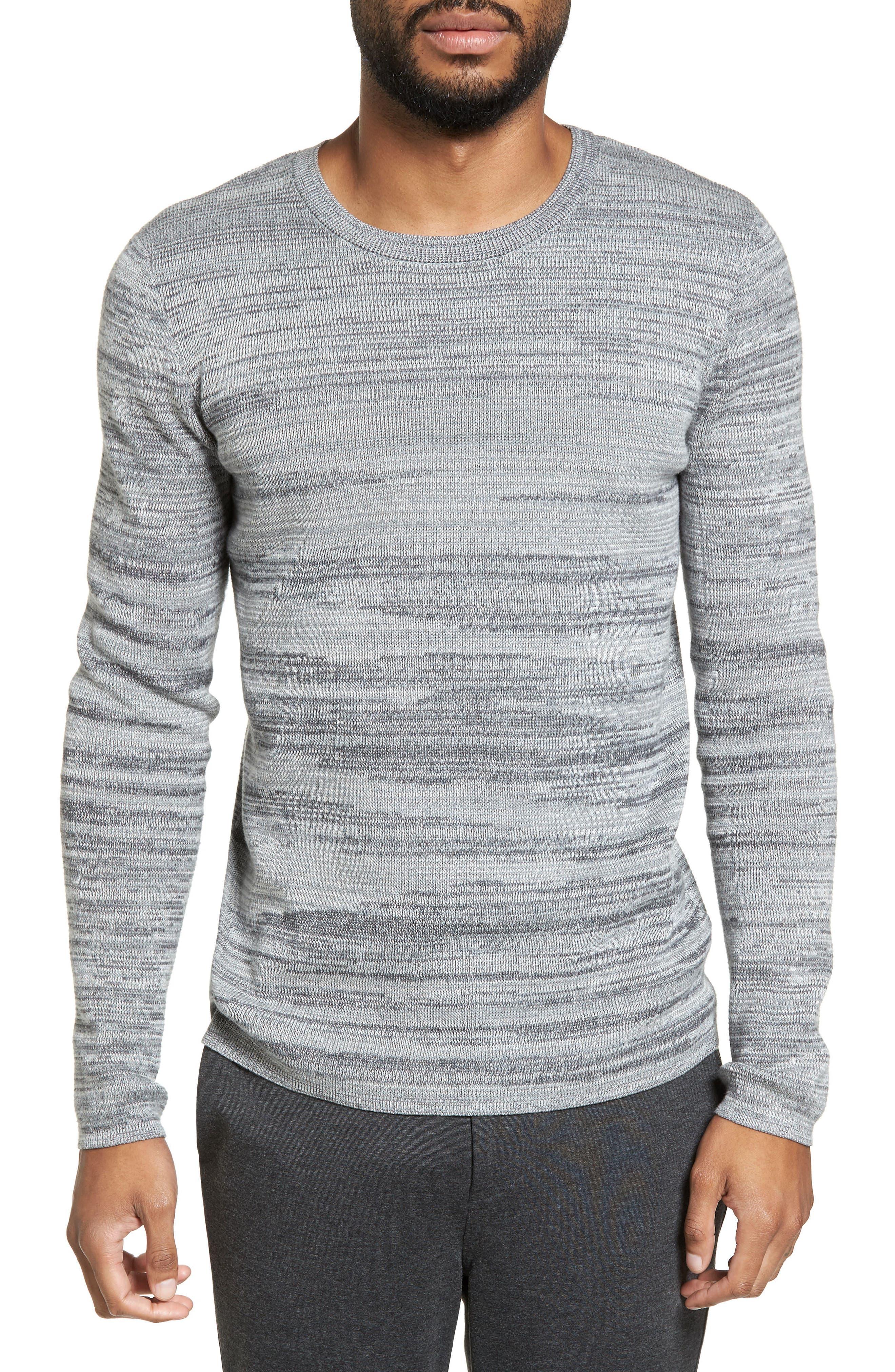 Calibrate Space Dye Crewneck Sweater